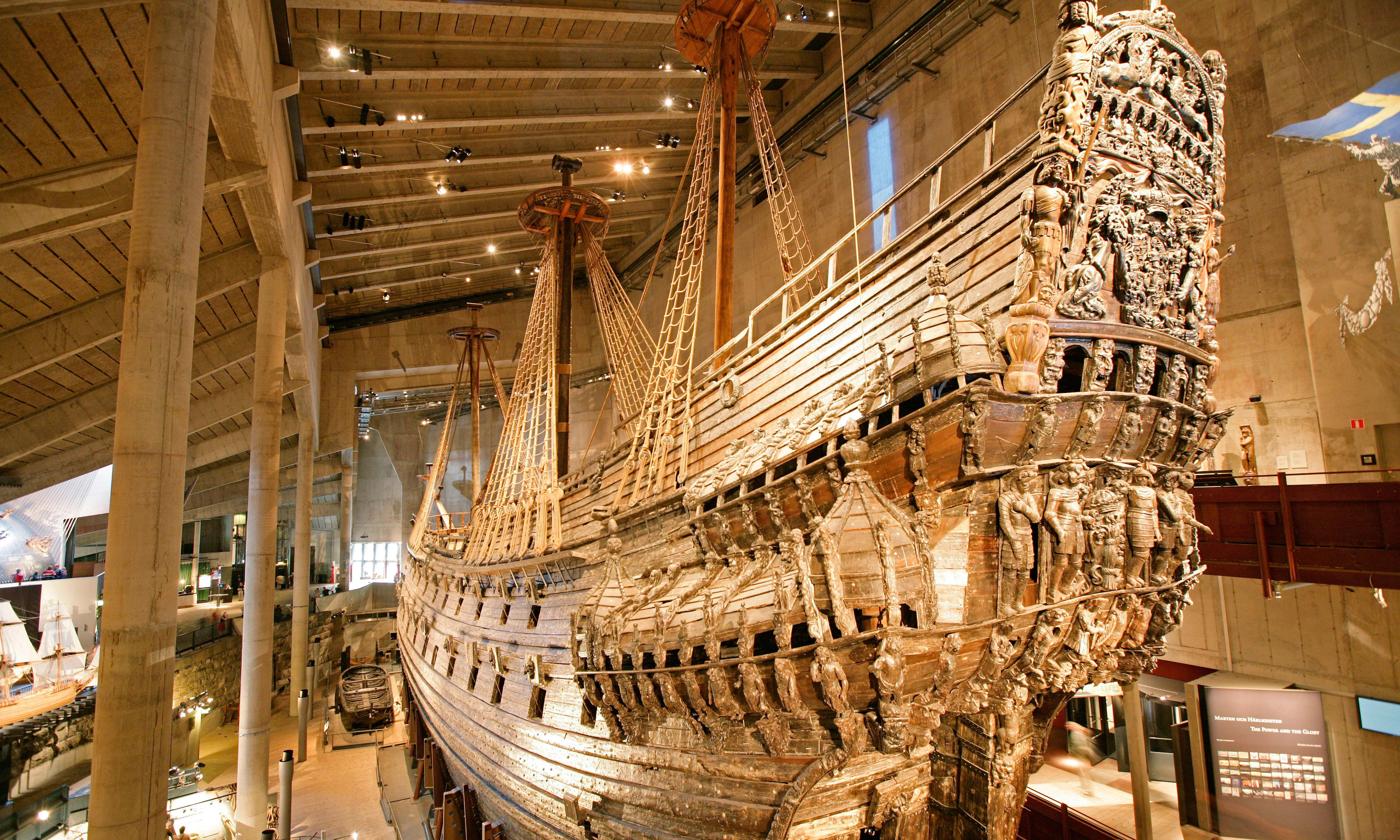 17th century warships linked to Sweden's historic Vasa found