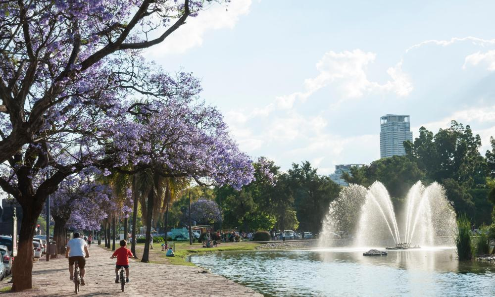 Buenos Aires in springtime.