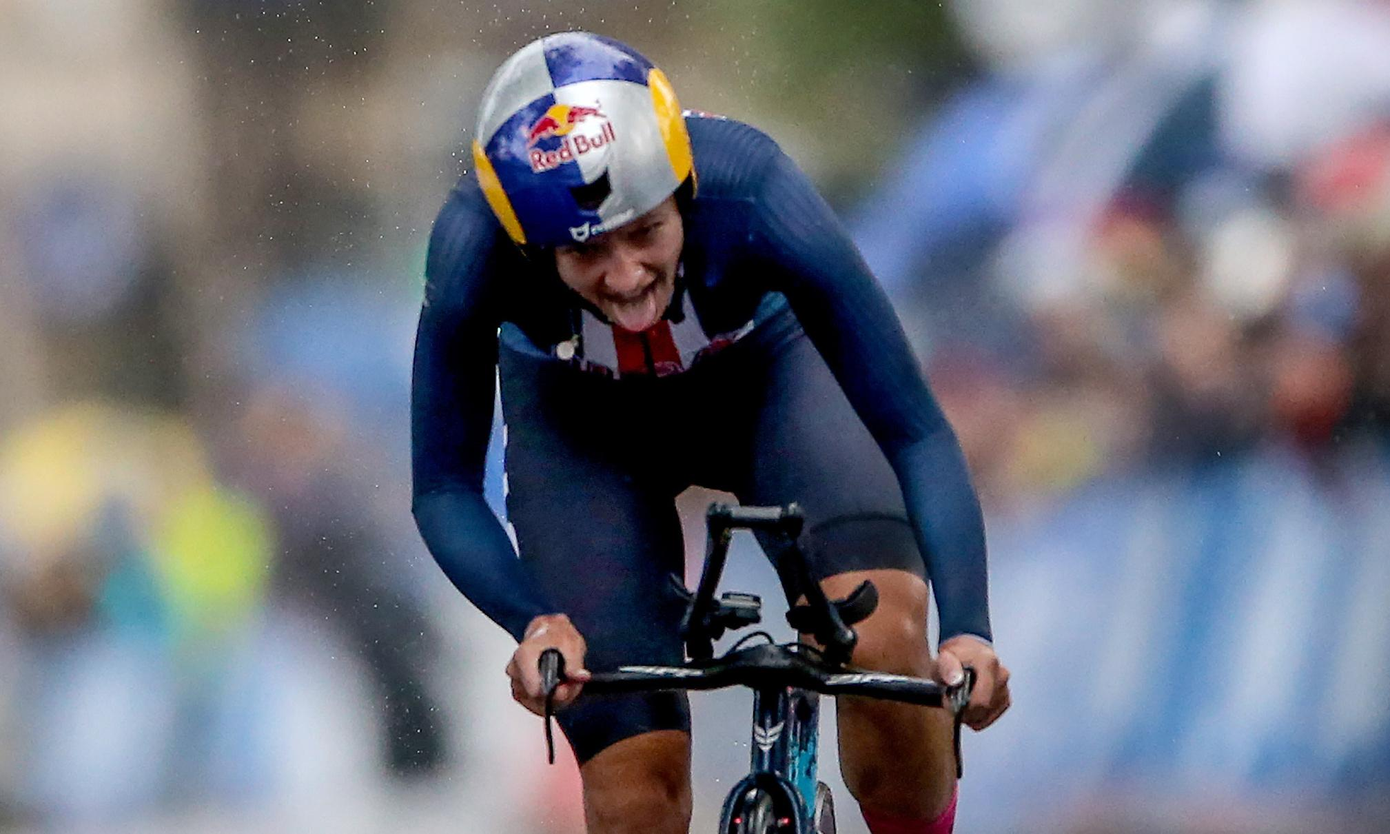 Dygert wins women's time trial amid Road World Championships rain chaos