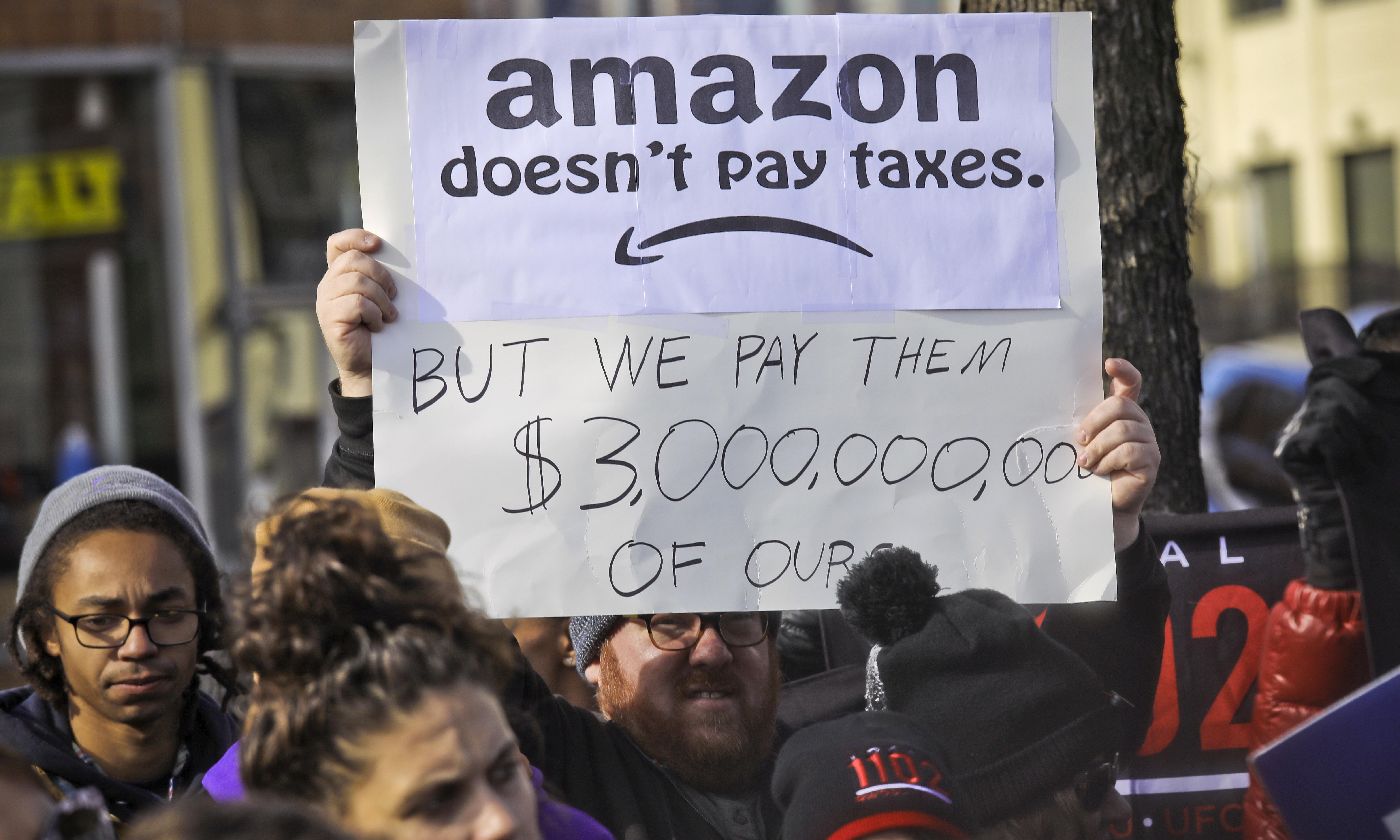 New York City to Amazon: drop dead
