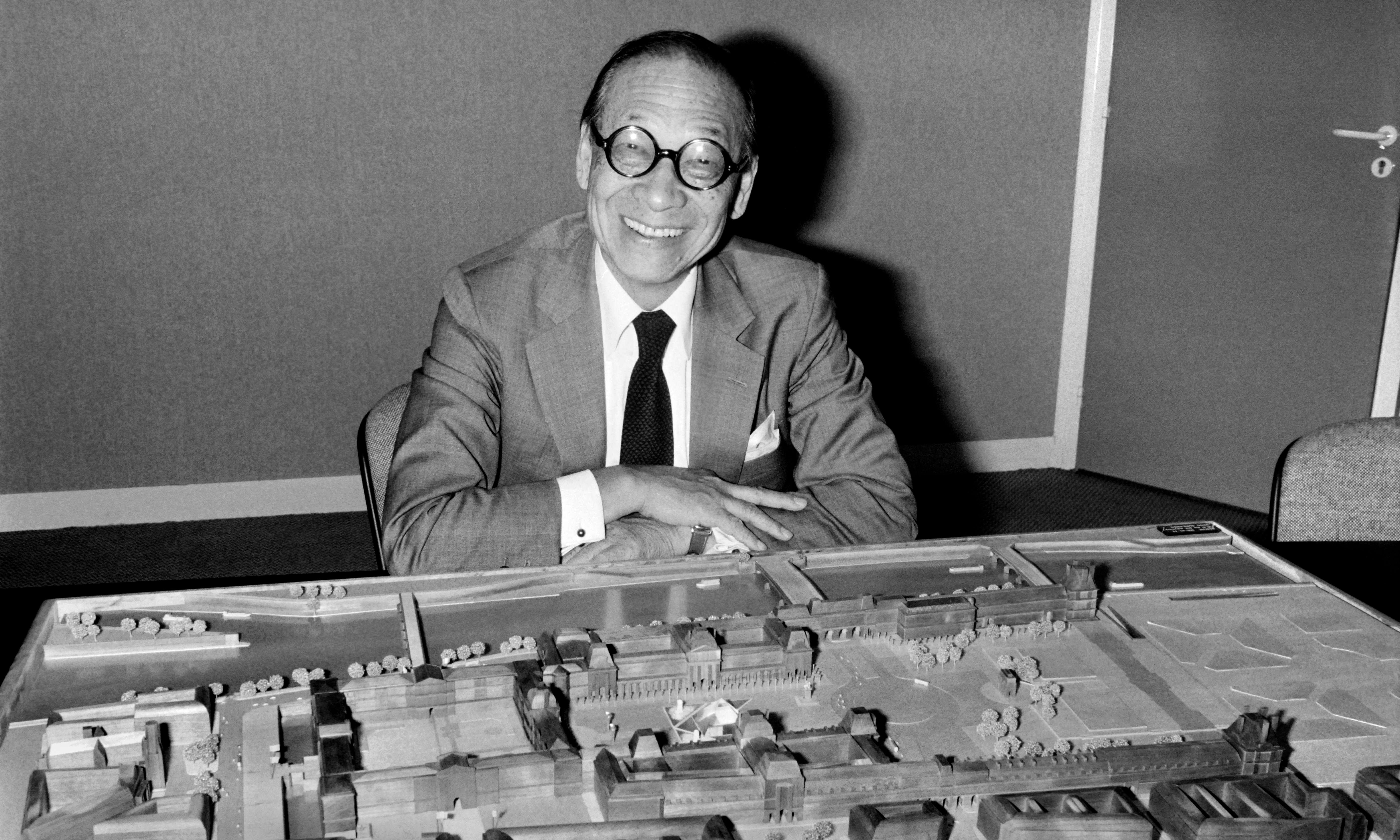 IM Pei: celebrated architect behind Louvre pyramid dead at 102