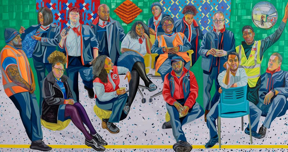Aliza Nisenbaum's London Underground: Brixton Station and Victoria Line Staff, 2018-19