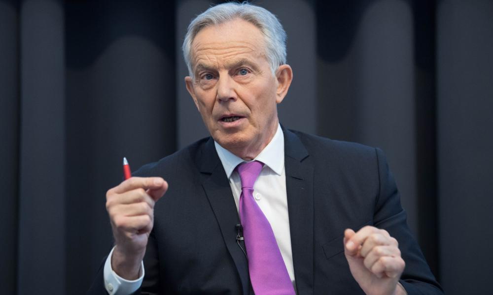 Former UK Prime Minister Tony Blair.