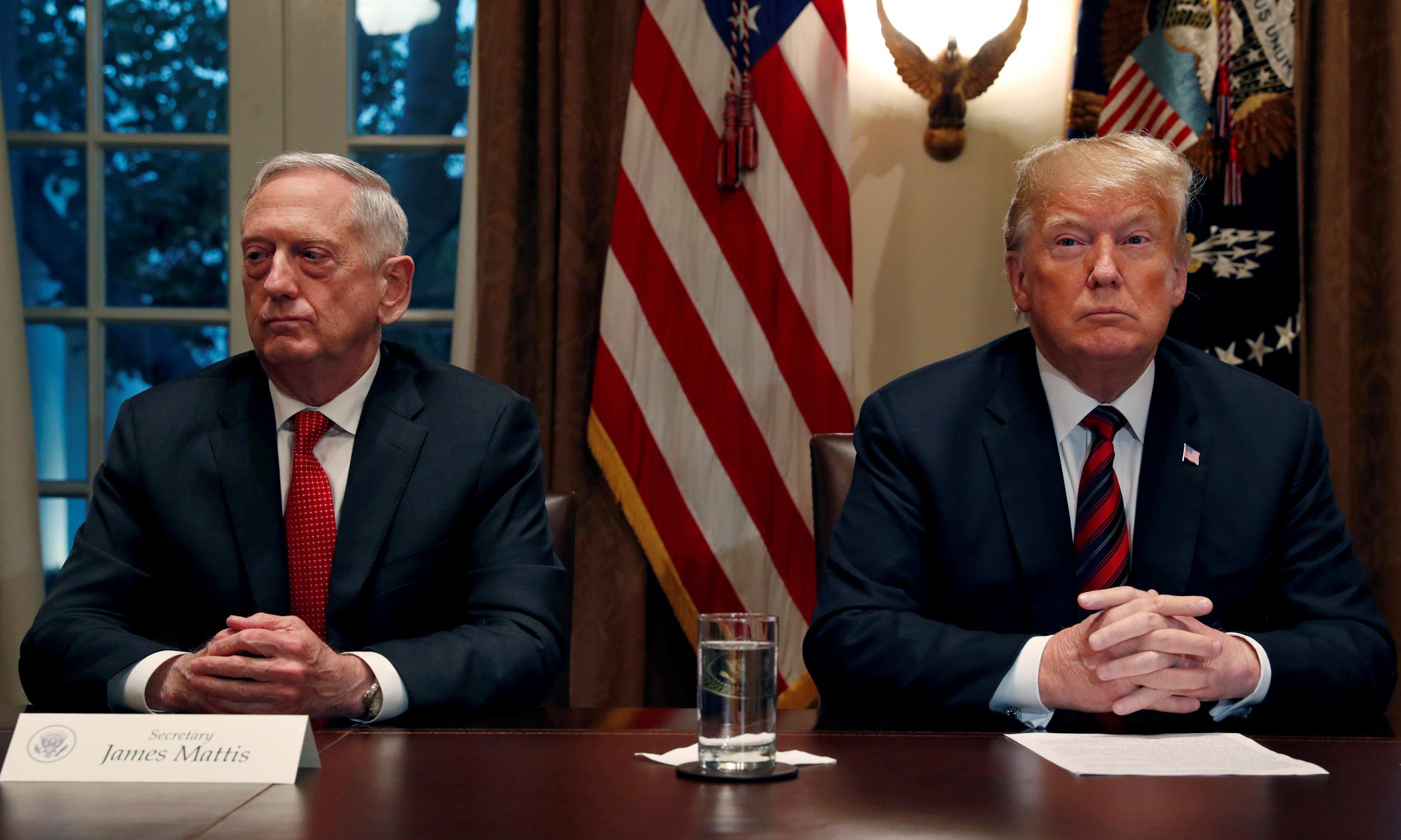 'He earned his spurs from a doctor': Gen James Mattis mocks Trump