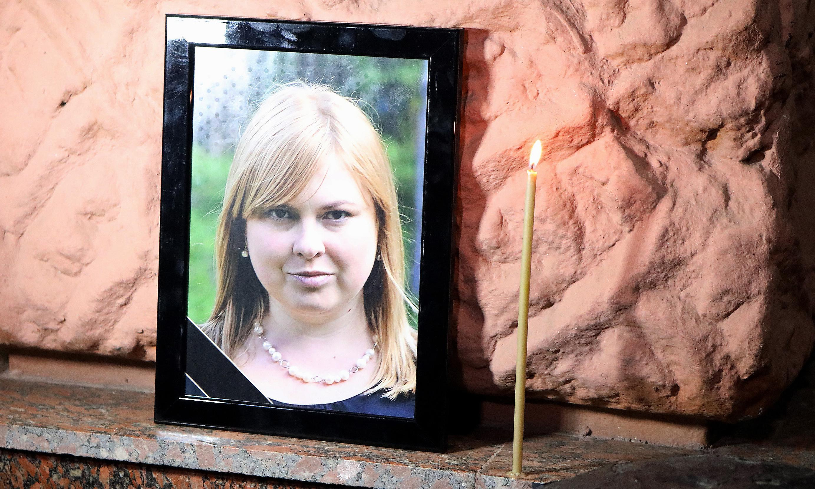 Ukraine activist Kateryna Handzyuk dies from acid attack