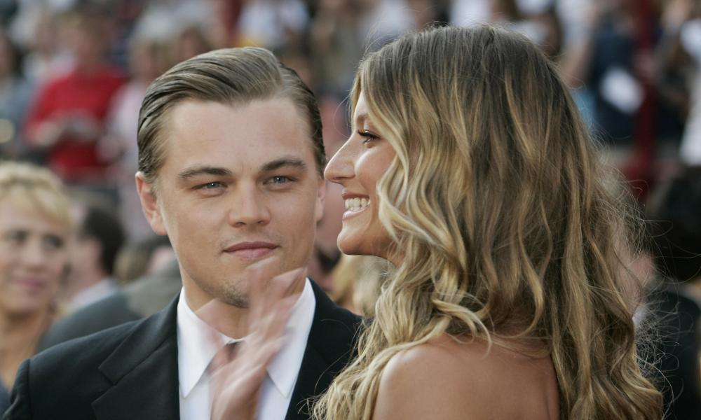 Power couple: Gisele with Leonardo DiCaprio in 2005, before they split up.