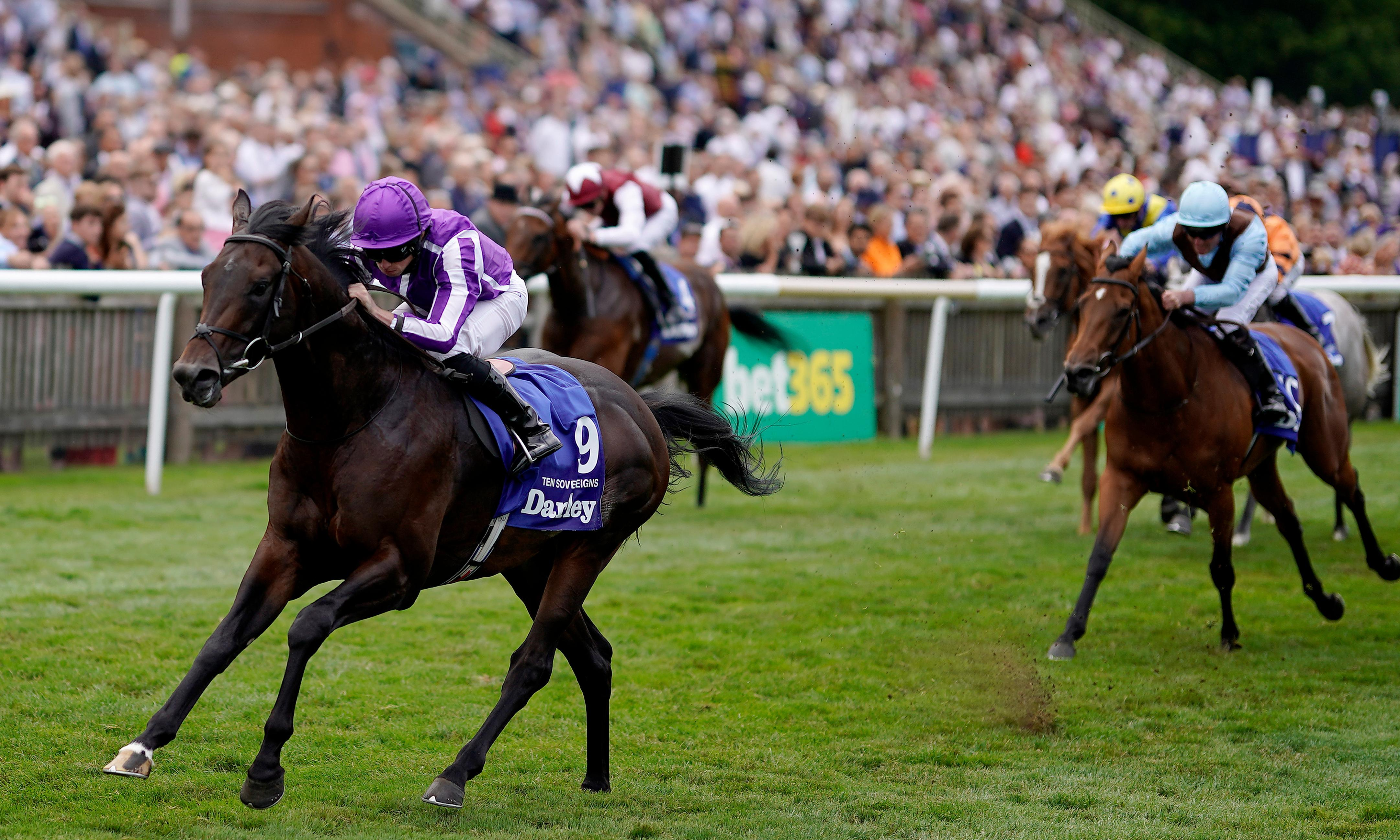 Moore pain for bookies as Aidan O'Brien's Ten Sovereigns wins July Cup