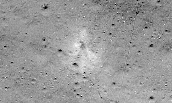 India's crashed Vikram moon lander spotted on lunar surface