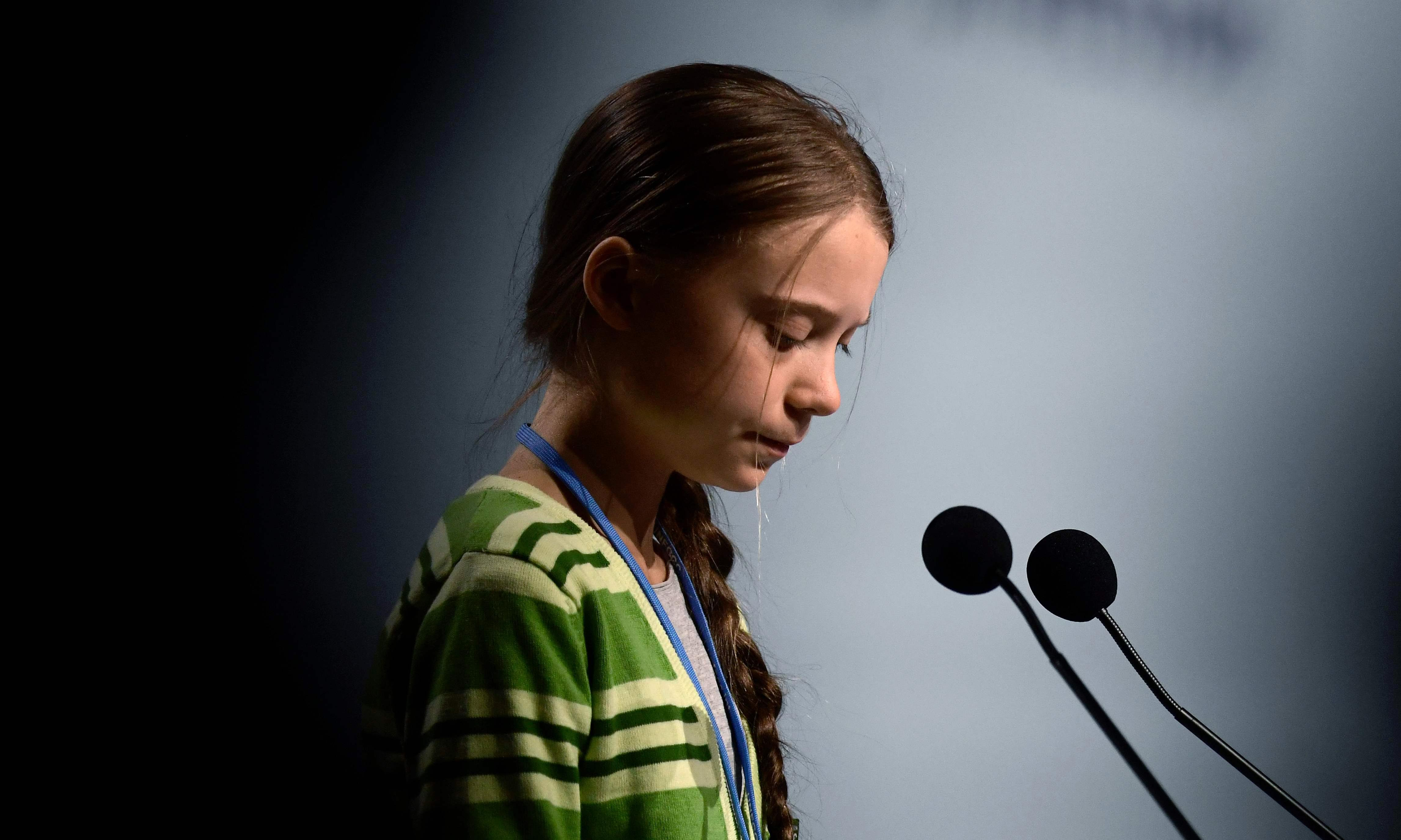 BBC put presenter on a plane to interview Greta Thunberg