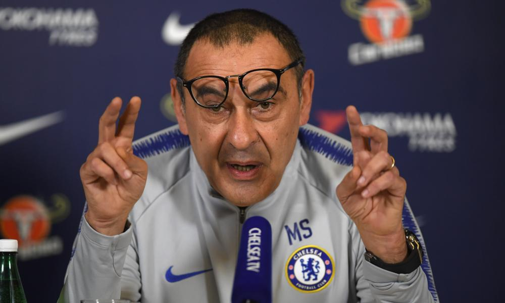 Maurizio Sarri's pursuit of pleasure has not been to everyone's taste.