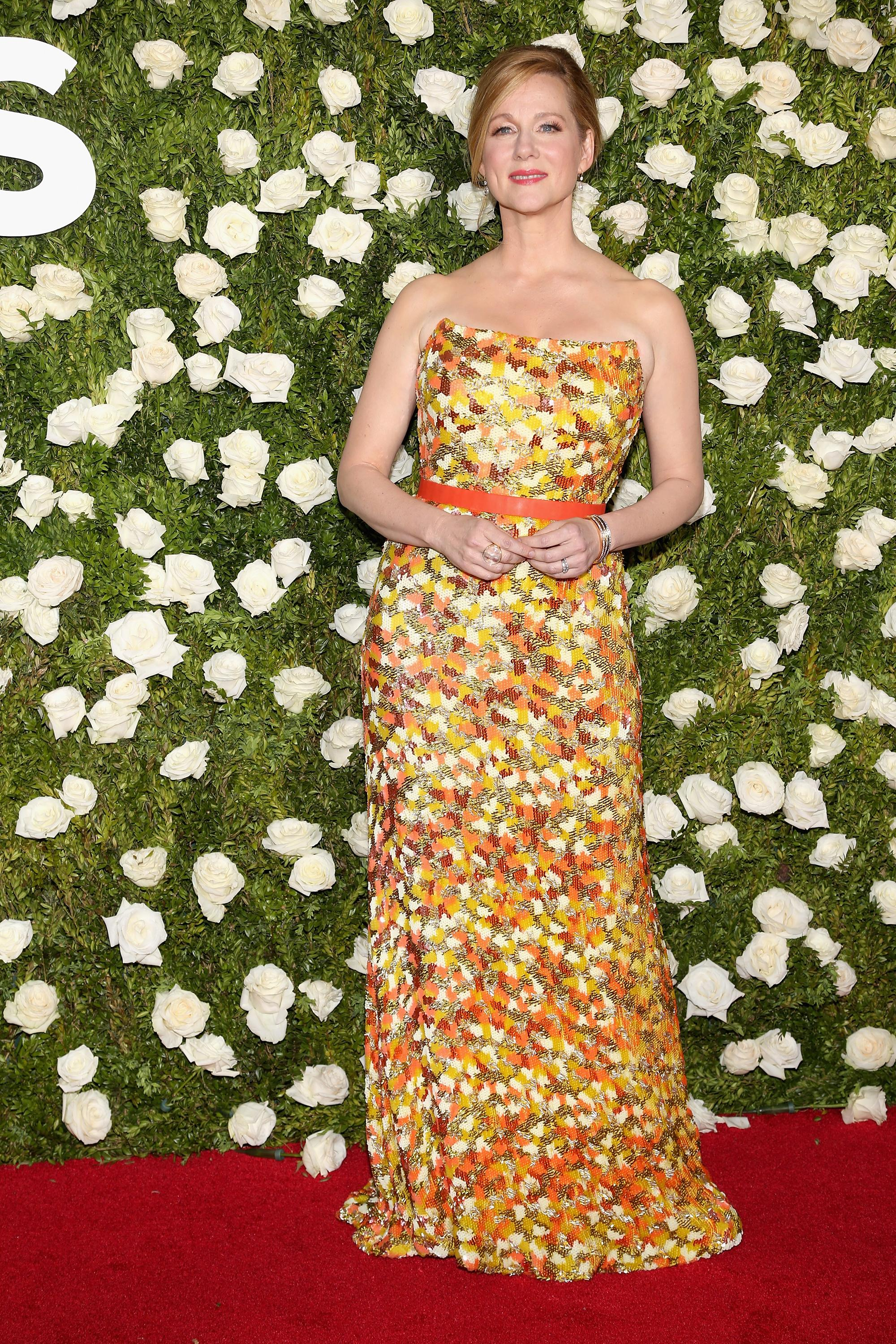 Laura Linney: 'I started to glow in the dark like an exotic cheetah'