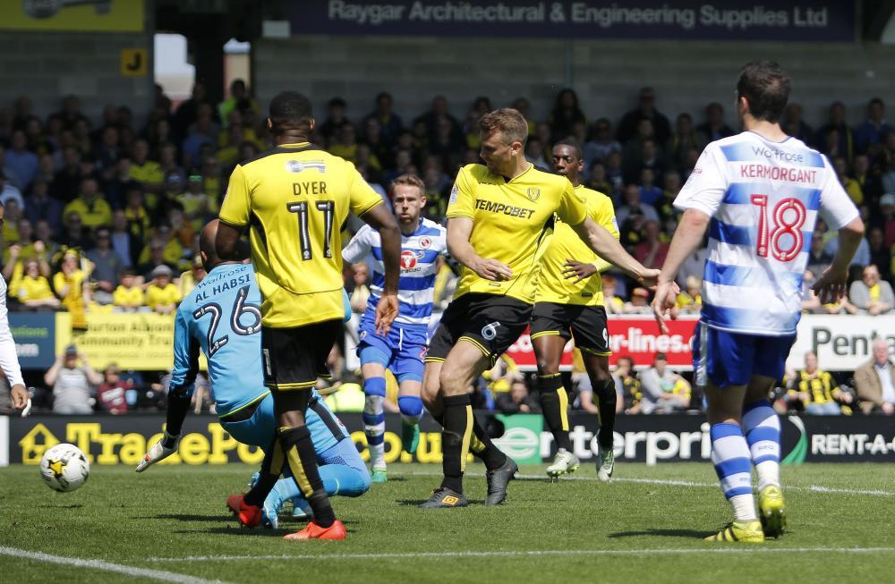 Ben Turner gets one back for Albion.