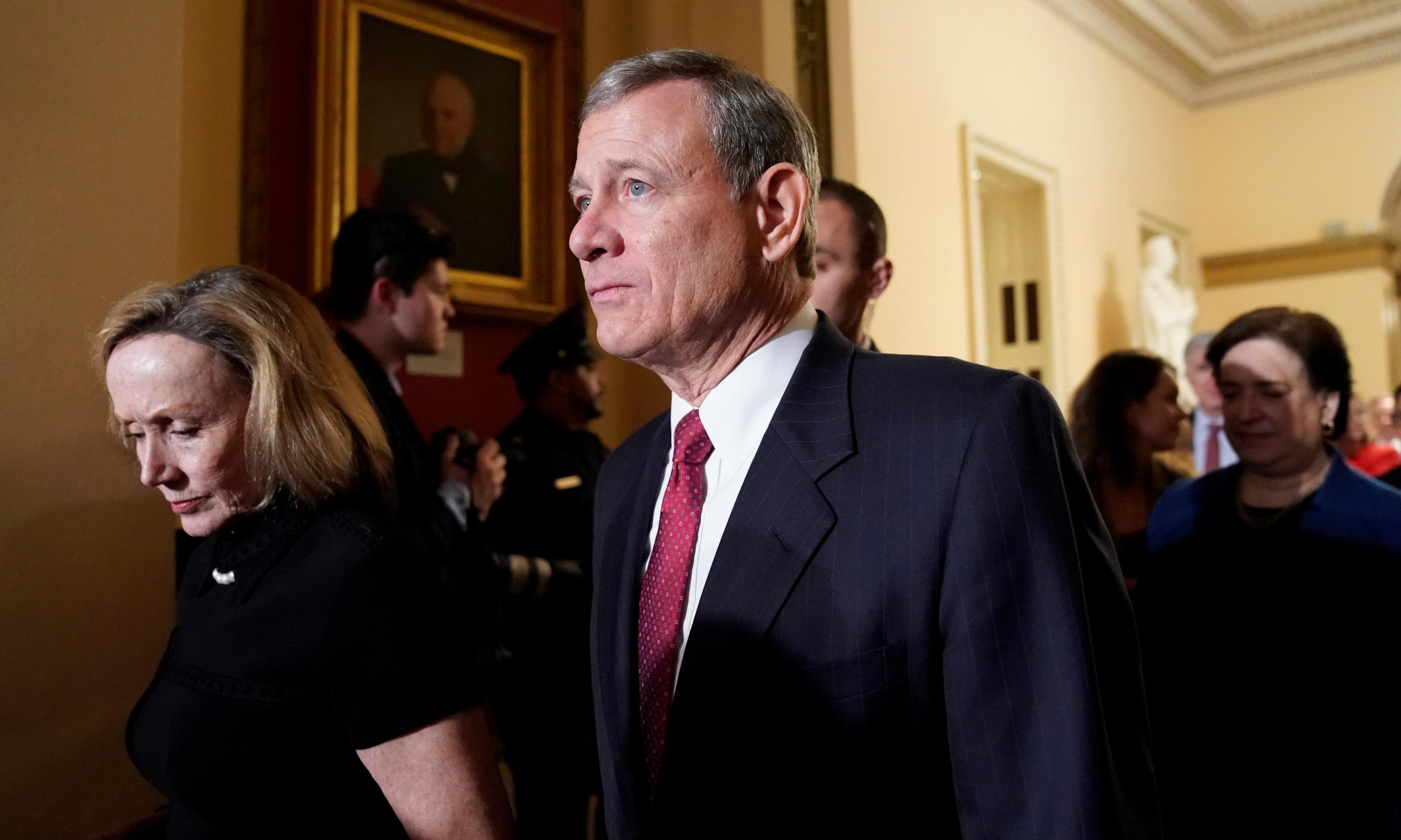 John Roberts: justice once labelled a 'disaster' by Trump to oversee impeachment trial