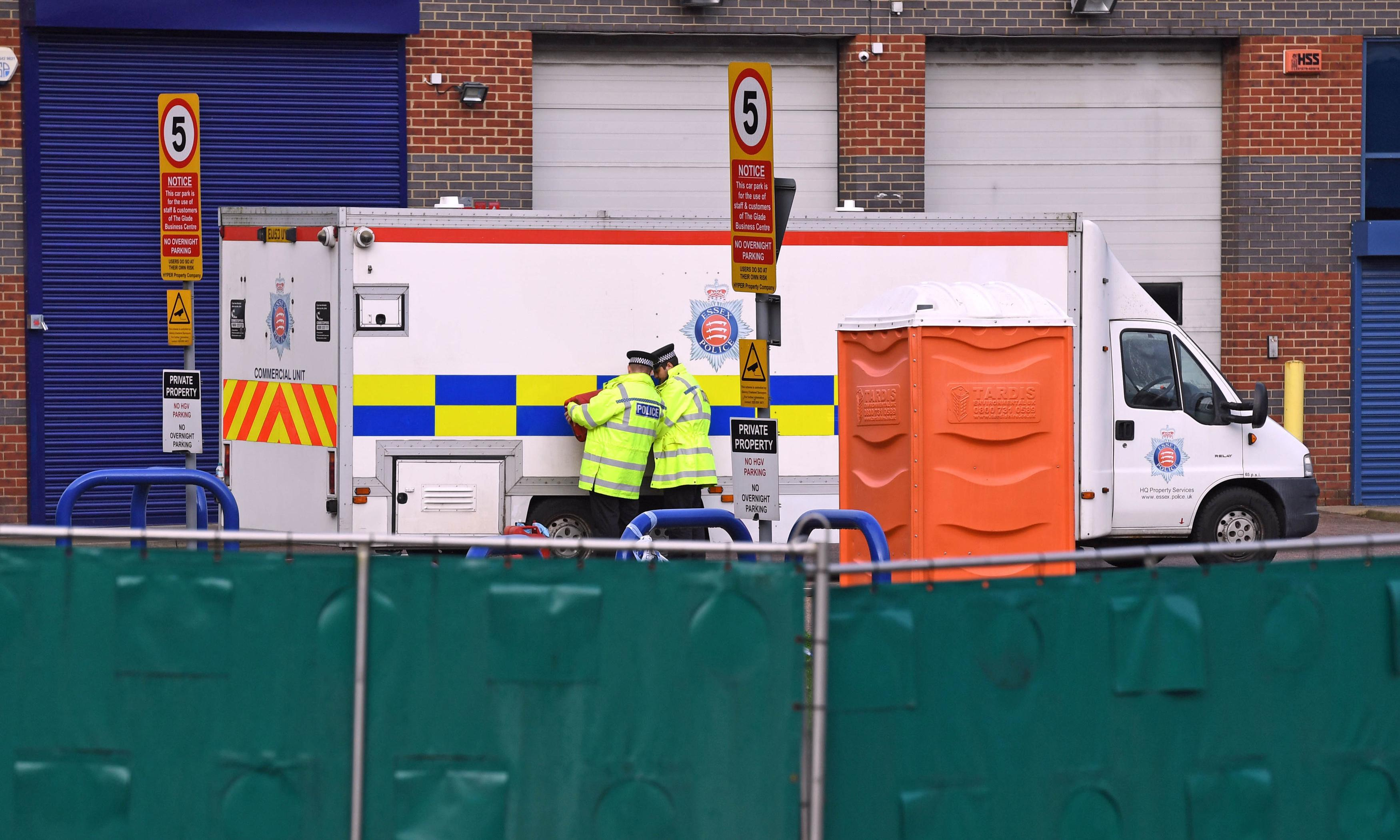 Essex lorry deaths: police say all victims thought to be Vietnamese