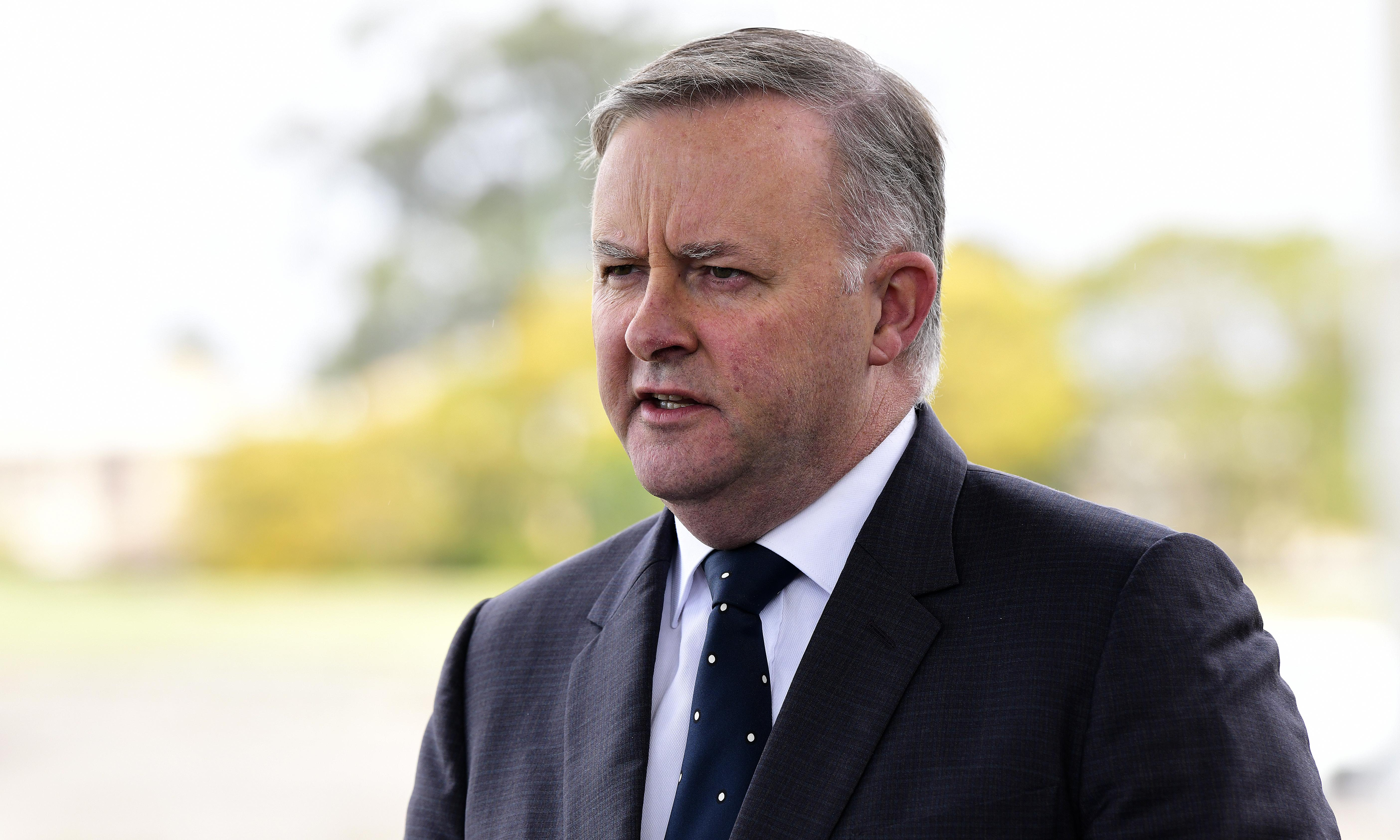 Albanese says NSW Labor in 'diabolical situation' after Icac donation revelations
