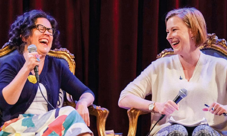 'It's about friendship': the viral podcast hit of Annabel Crabb and Leigh Sales