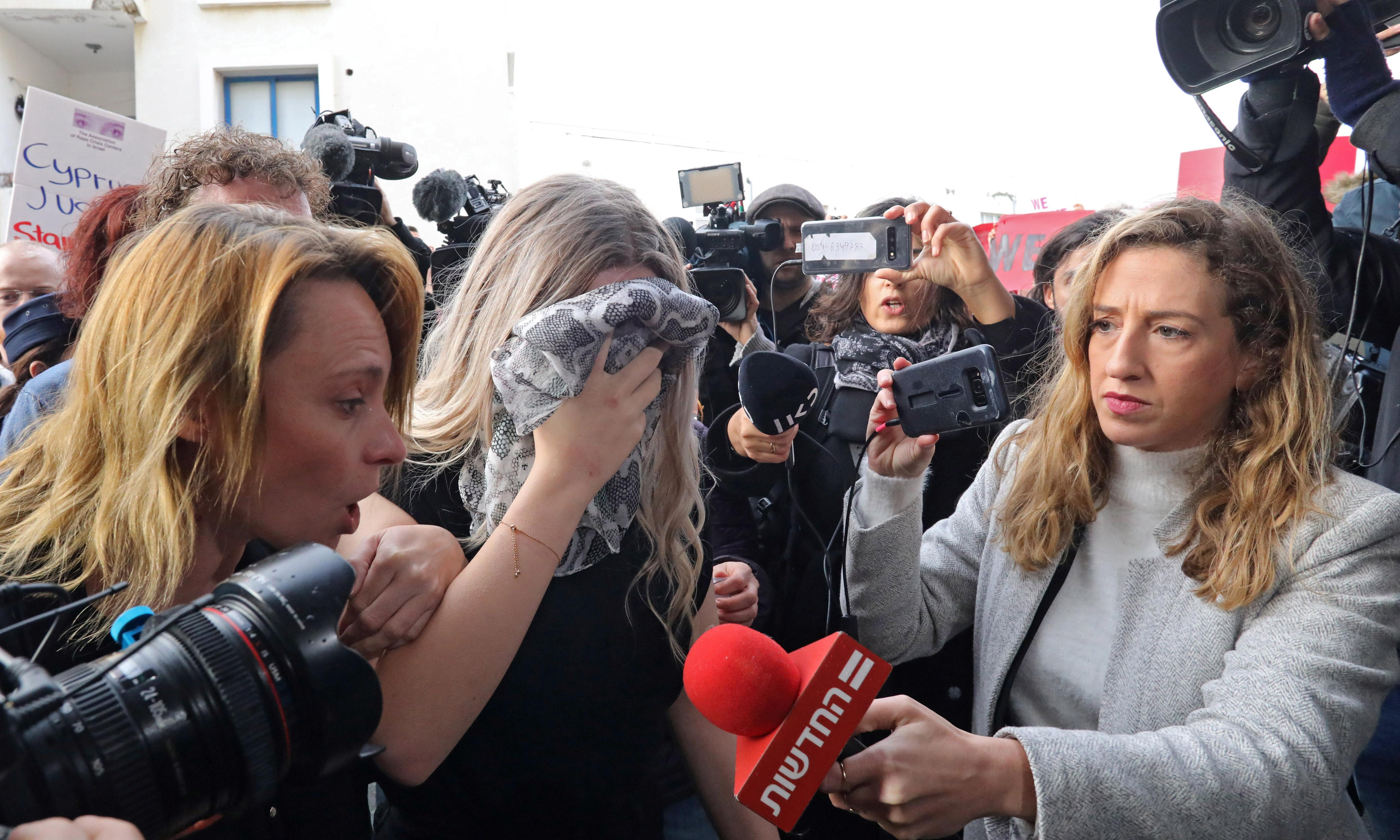 Teenager in Cyprus rape case appeals against conviction