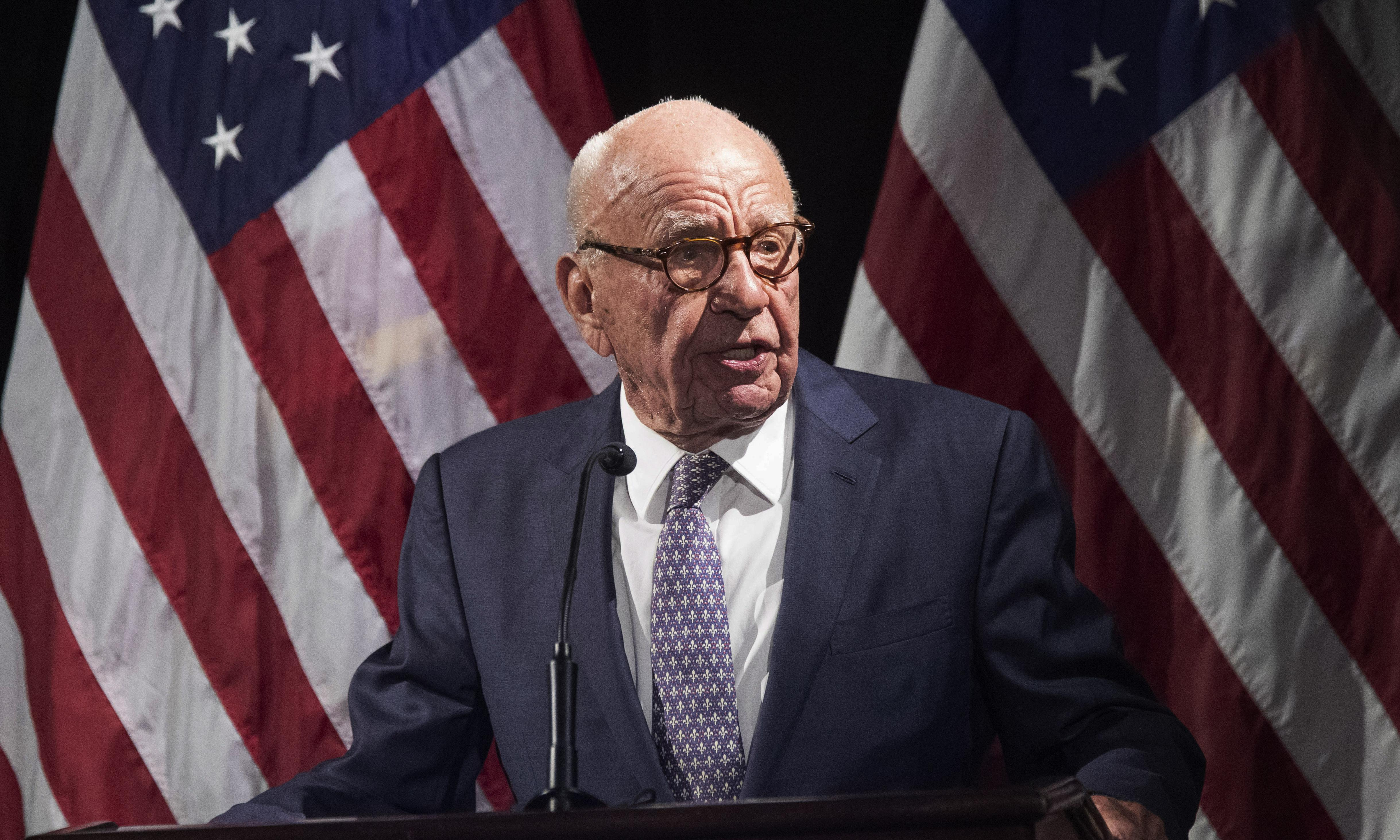News Corp's Rupert Murdoch says 'there are no climate change deniers around'