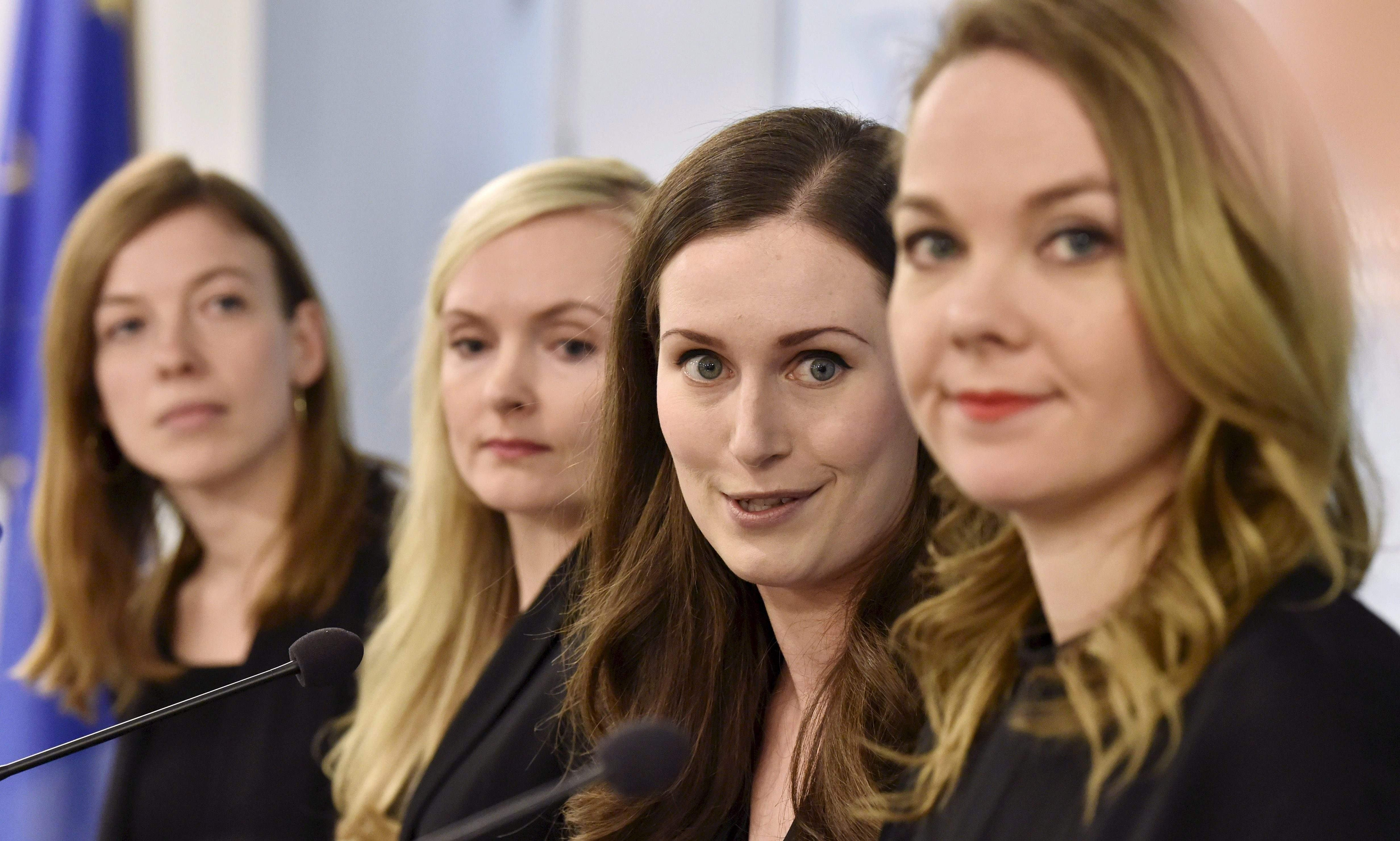 Feminism comes of age in Finland as female coalition takes the reins