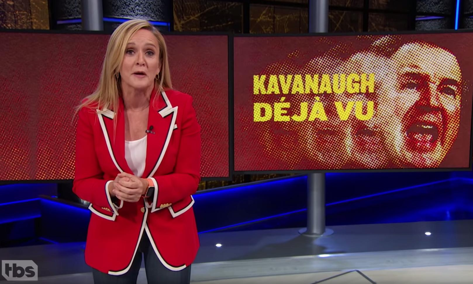Samantha Bee: Senate decided 'not to do a proper investigation' on Kavanaugh