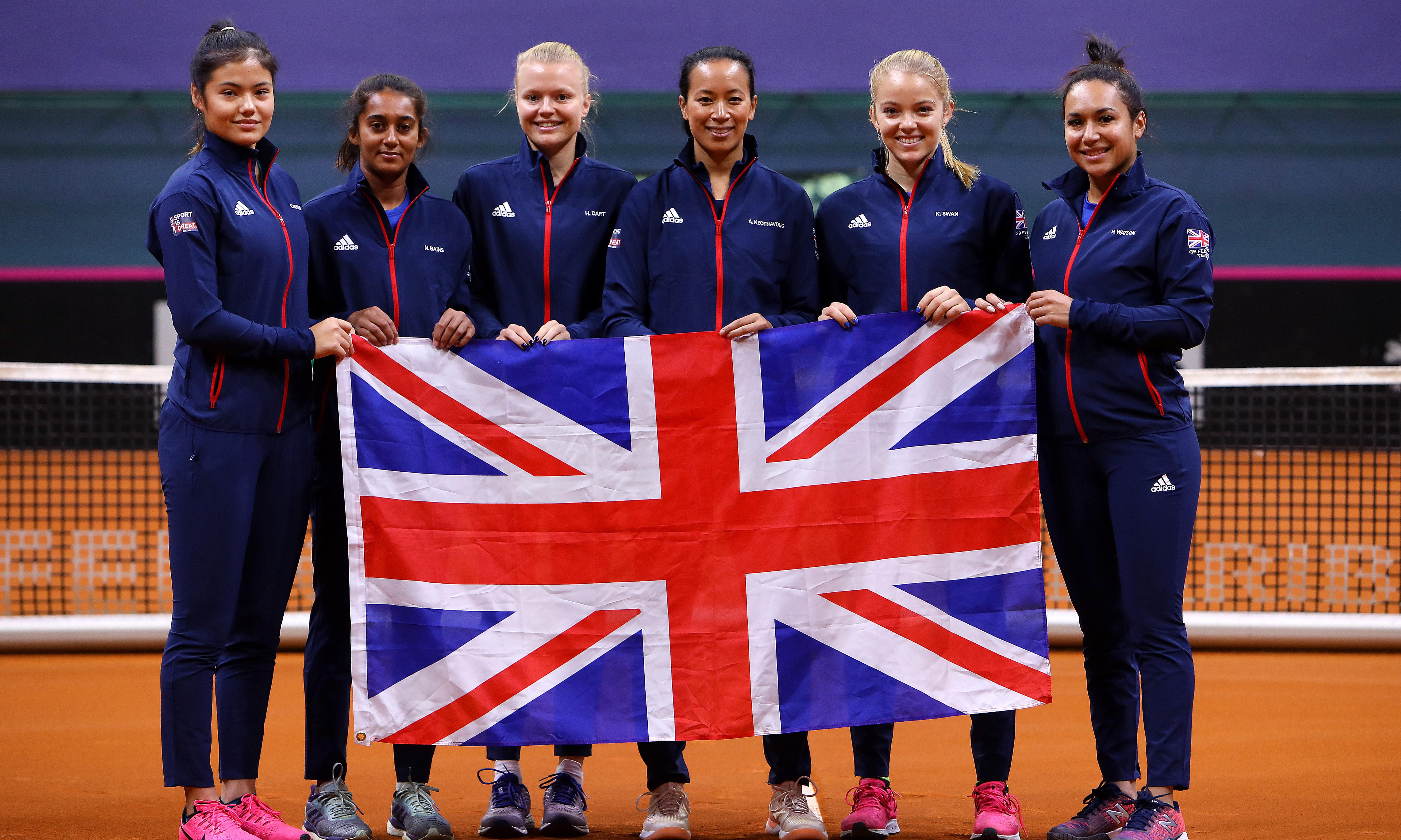 GB take on Slovakia in battle for new-look Fed Cup finals place