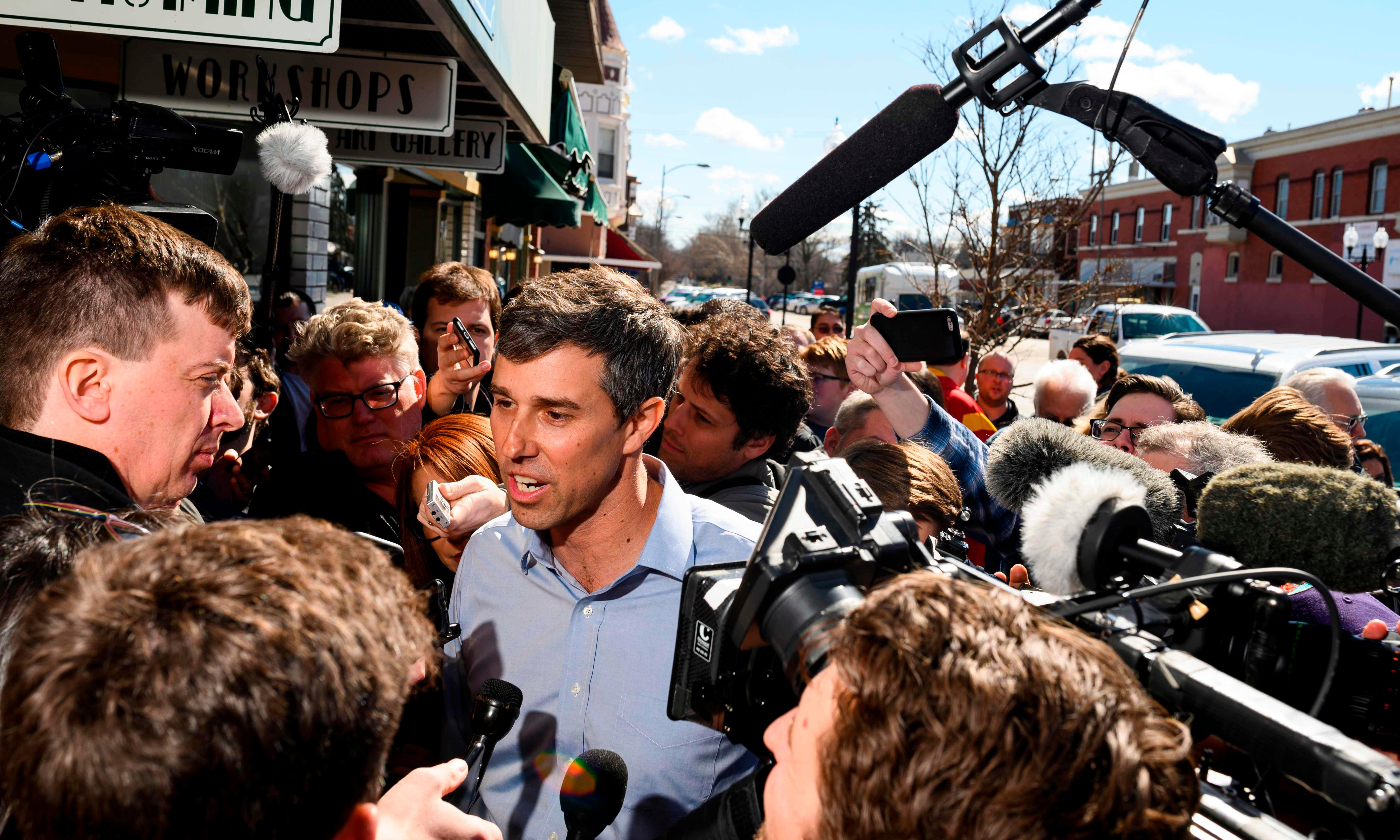 Beto O'Rourke raised $6.1m in a day – proof there's too much money in US politics