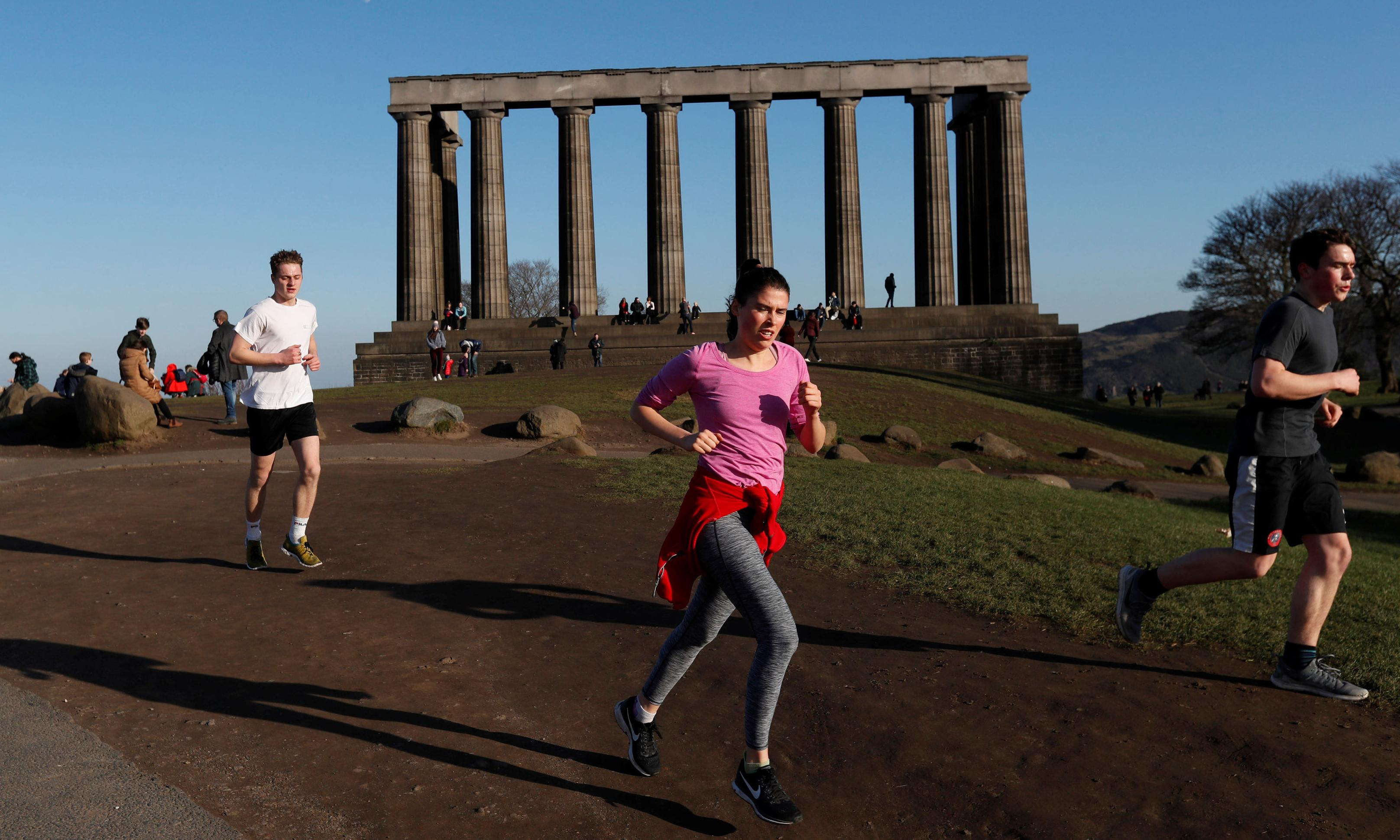 A year after the Beast, Scotland basks in record winter highs