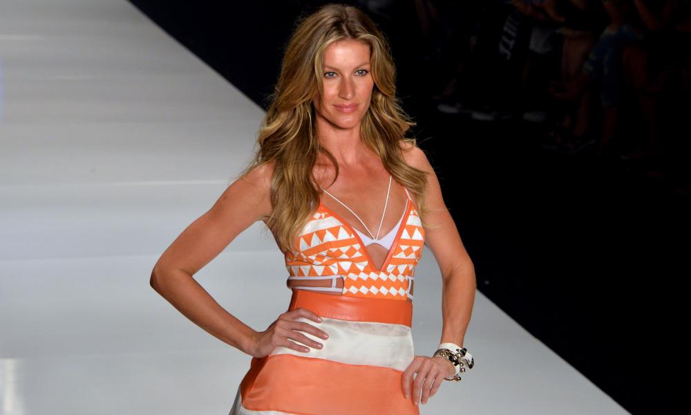 Brazilian supermodel Gisele Bundchen in 2015.