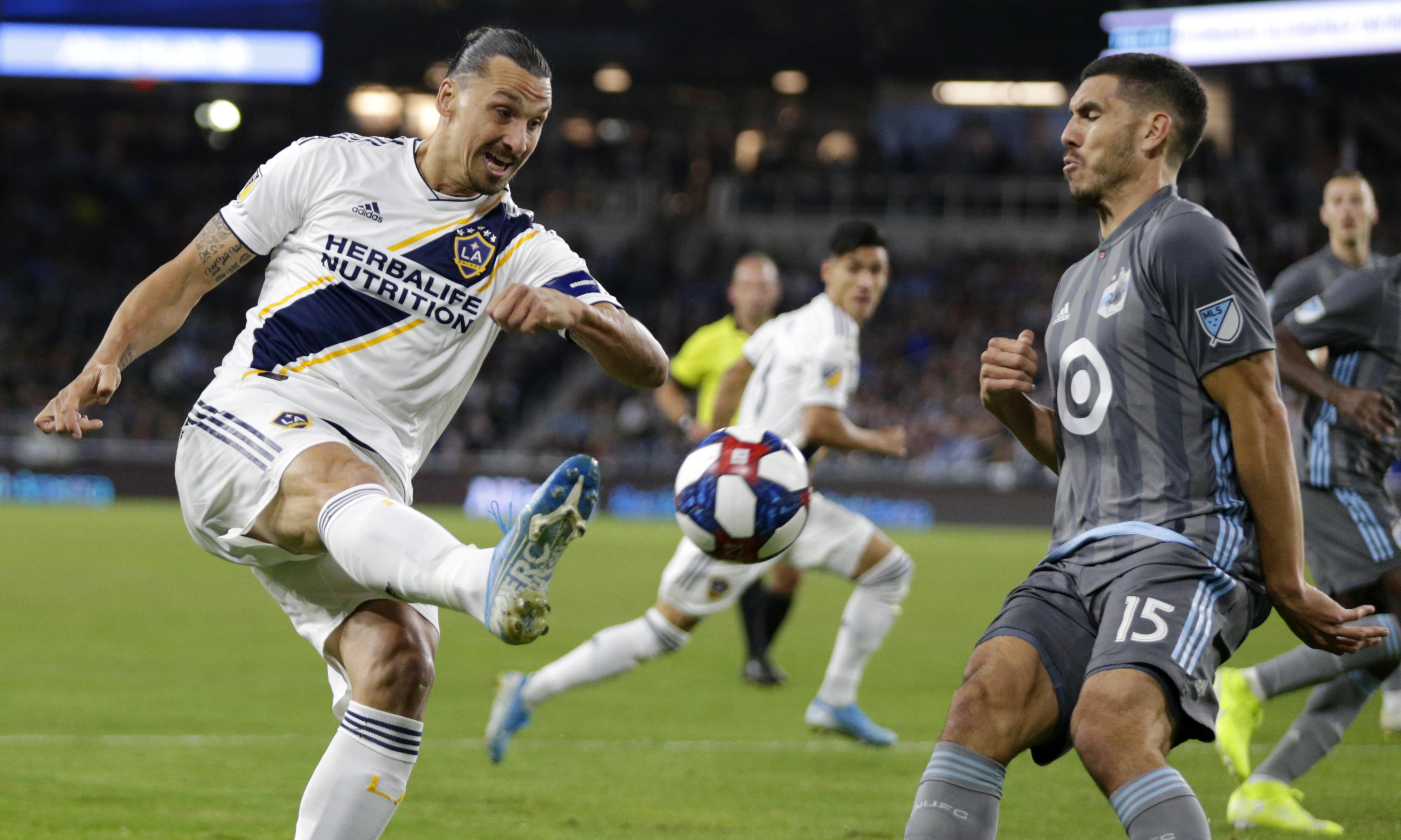 Galaxy set up LA playoff derby with victory over Minnesota United