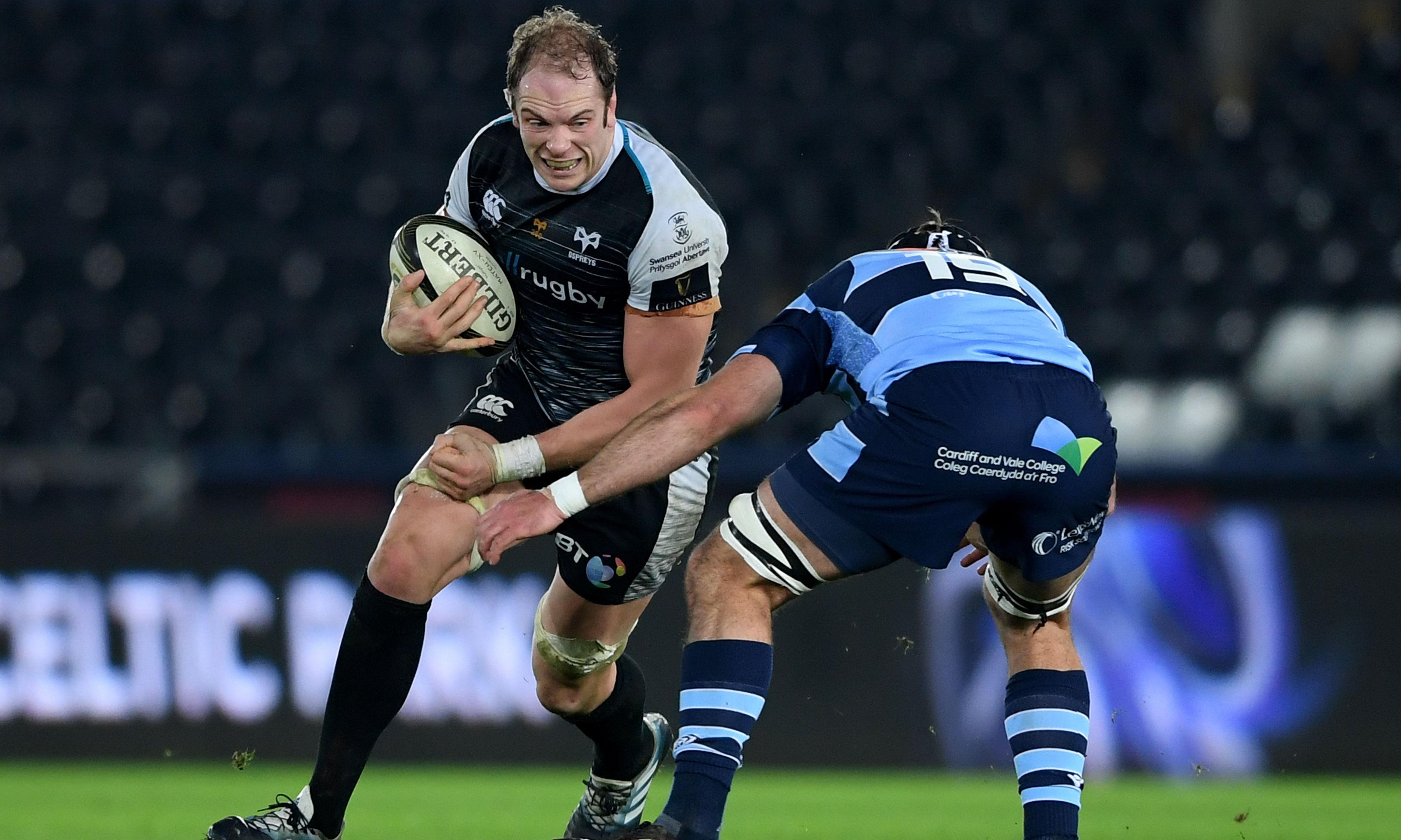 Alun Wyn Jones close to Ospreys new deal and '50-50' for Cardiff Blues game