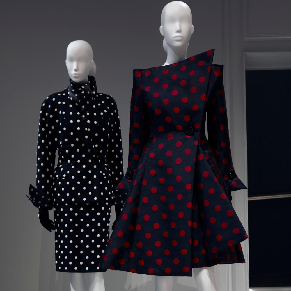 Gianfranco Ferre's couture gowns reflected the late 80s and early 90s when he was at Dior.