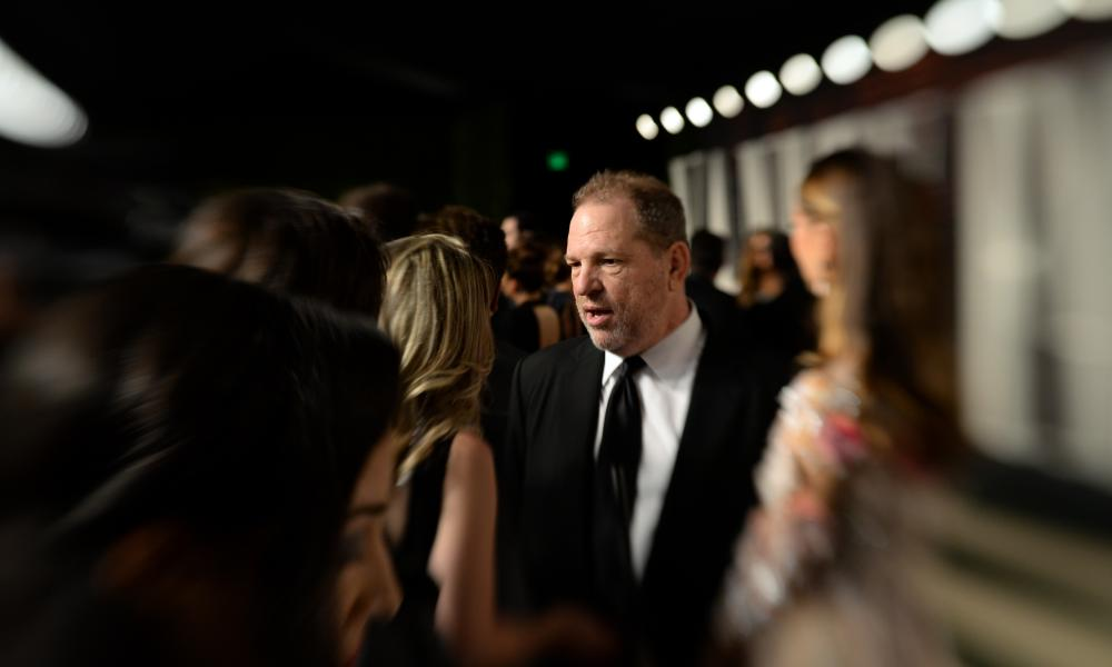 Harvey Weinstein at the Vanity Fair party in Beverly Hills in February 2016.
