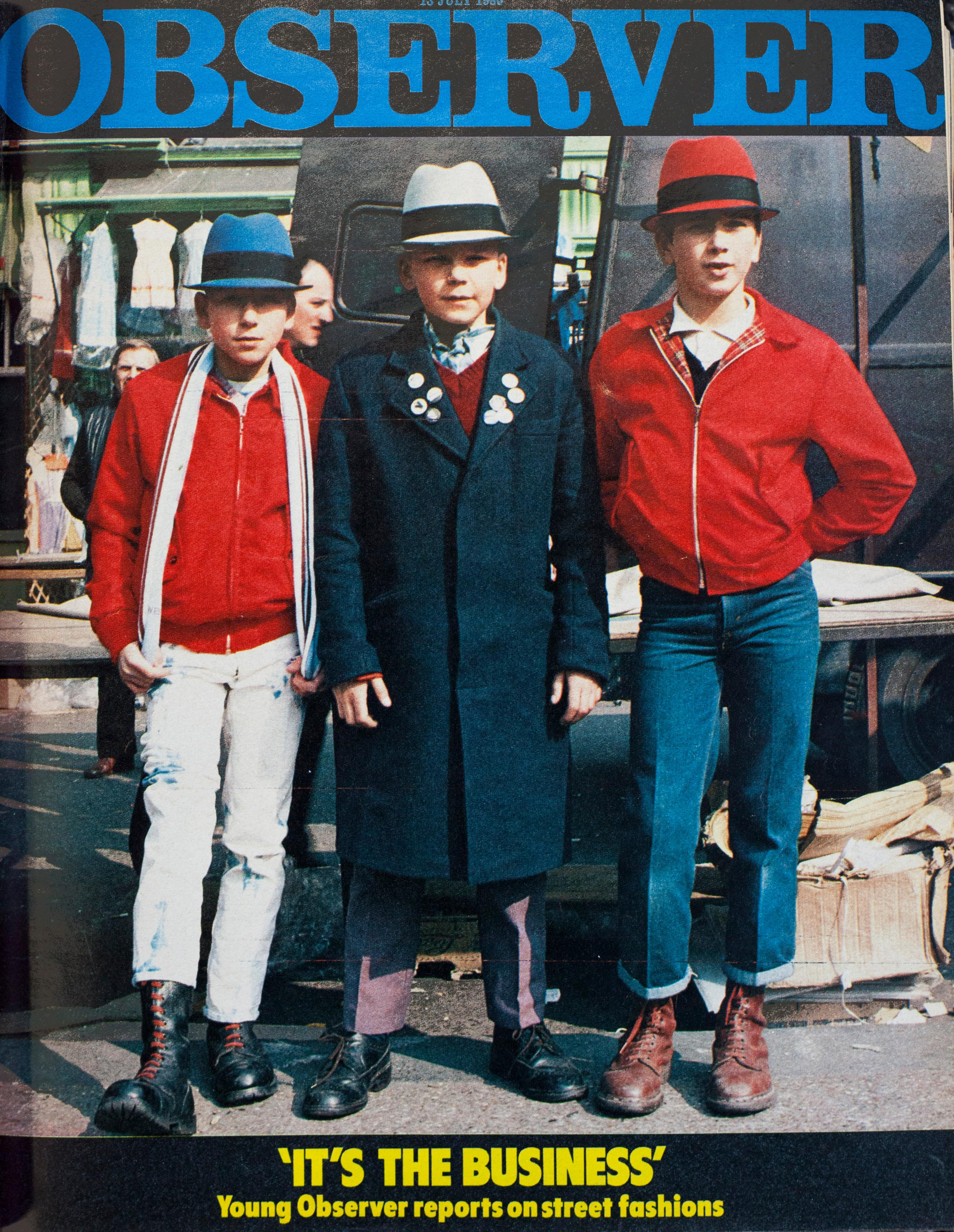 From the archive: street fashion in the summer of 1980