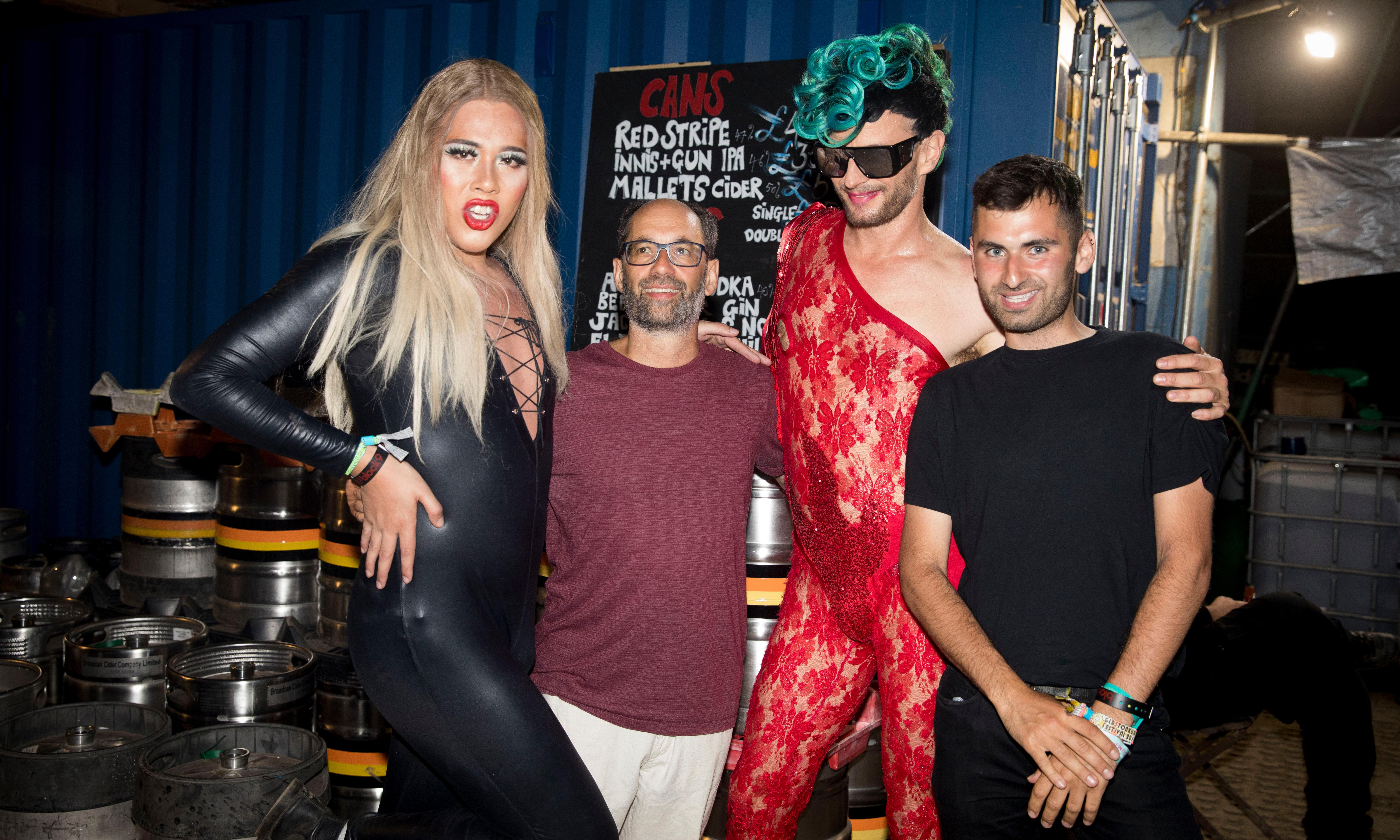Drag queens, dancing and Dad – what happened when I took my father to Glastonbury