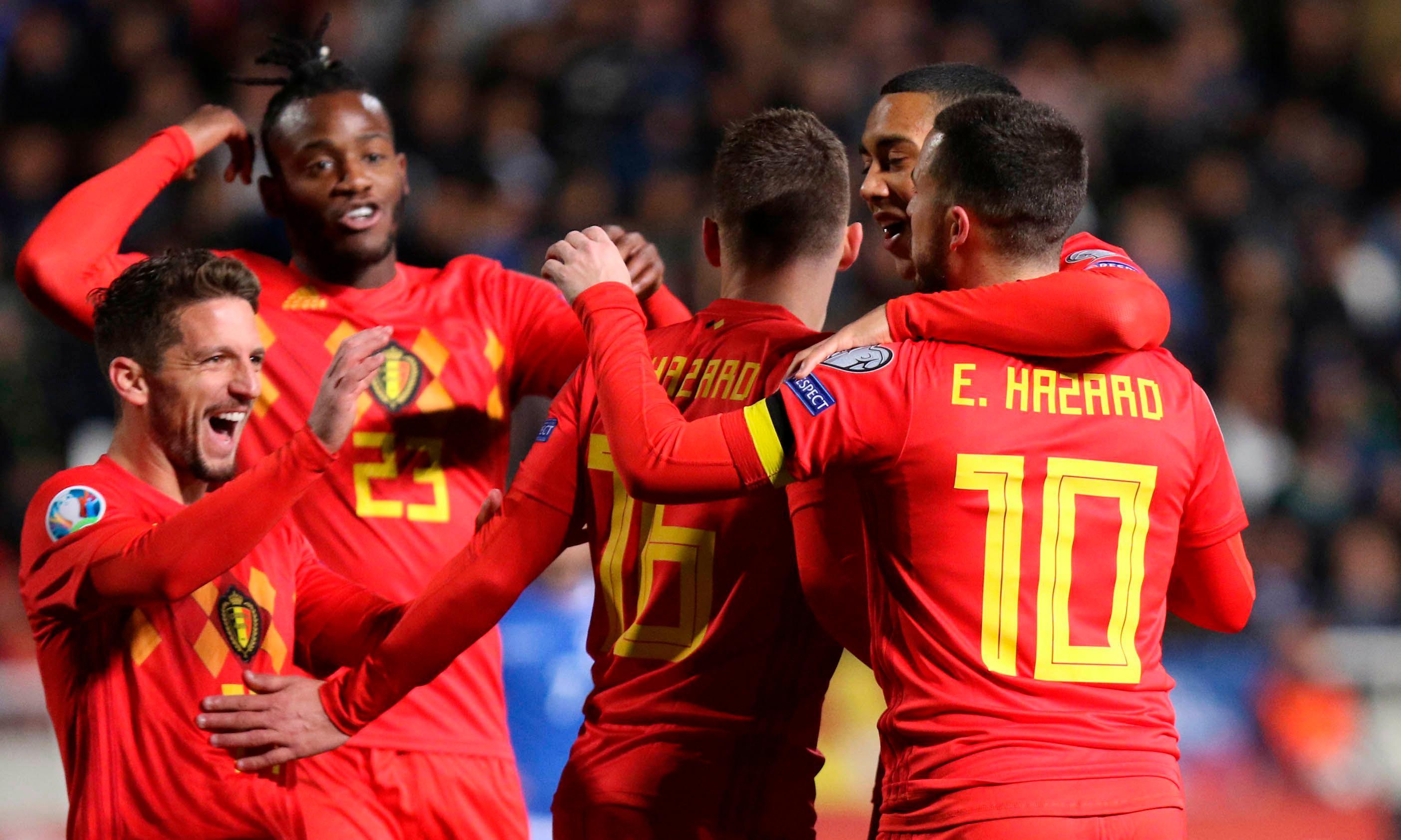 Croatia beaten by Hungary, Hazard on target as Belgium win in Cyprus