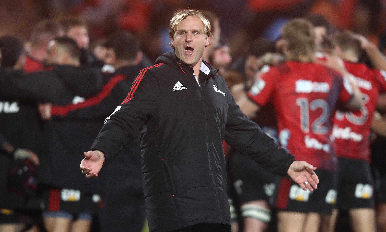 Crusaders coach Scott Robertson on All Blacks coach shortlist