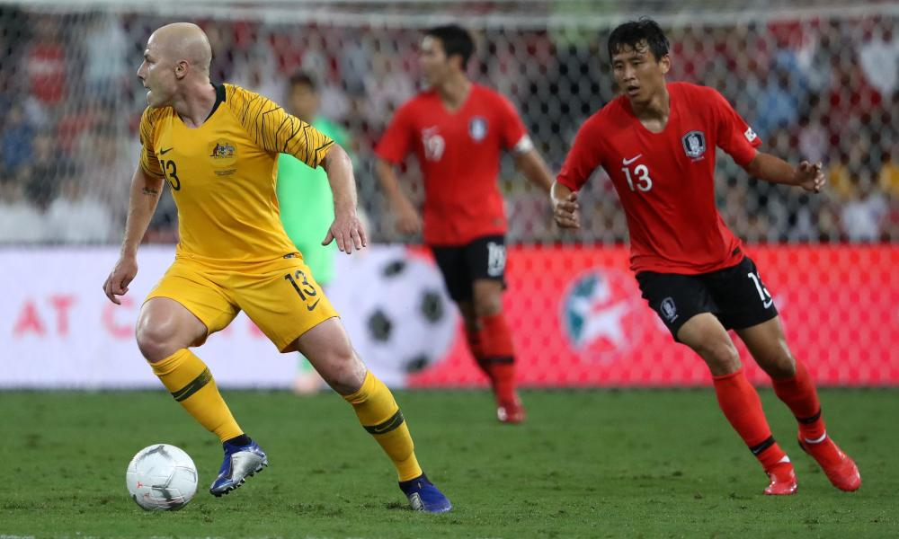 Aaron Mooy struggled to pick out teammates in advanced positions on Saturday.
