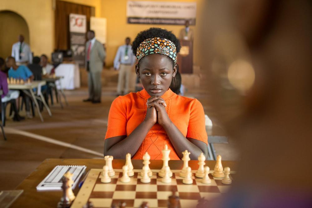 Madina Nalwanga in Disney's 2016 film Queen of Katwe.