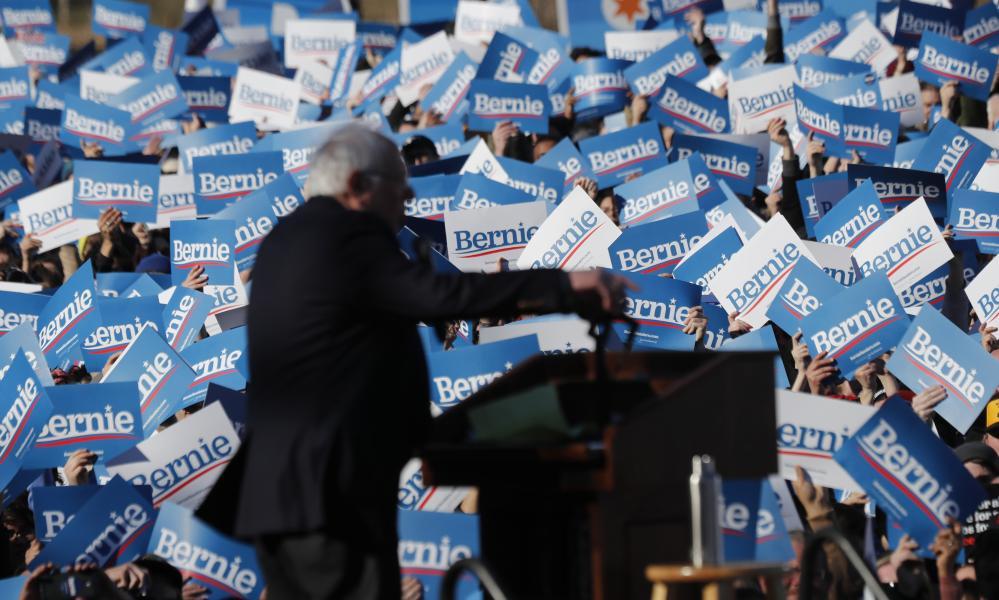 Bernie Sanders in Chicago earlier in March.