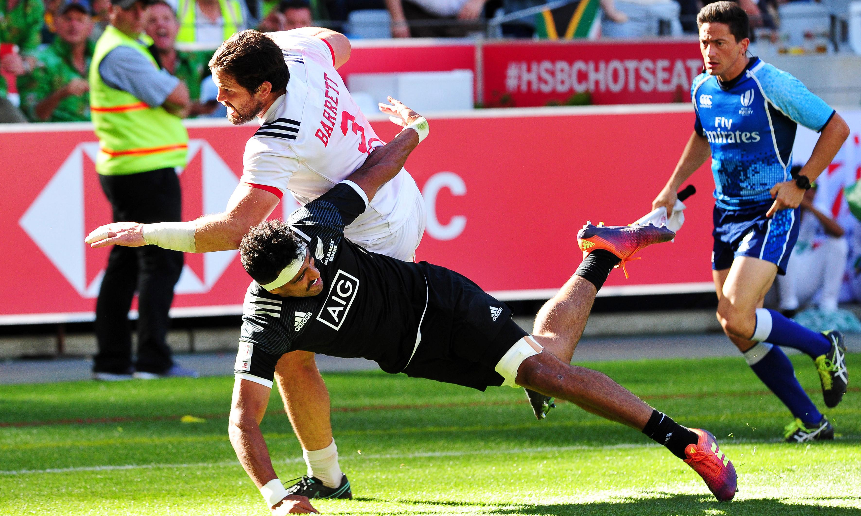 Danny Barrett's brutal brilliance puts USA top of the rugby sevens world