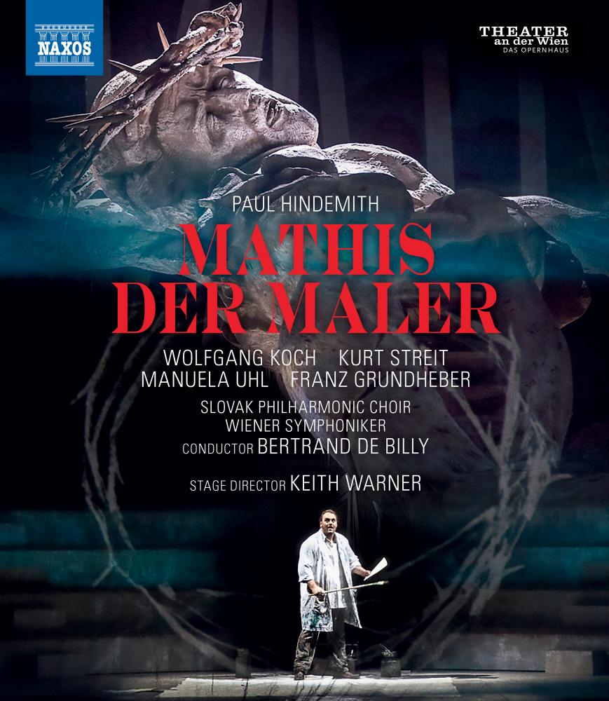 Hindemith: Mathis de Maler DVD cover.