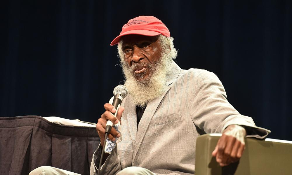 Dick Gregory in 2015.