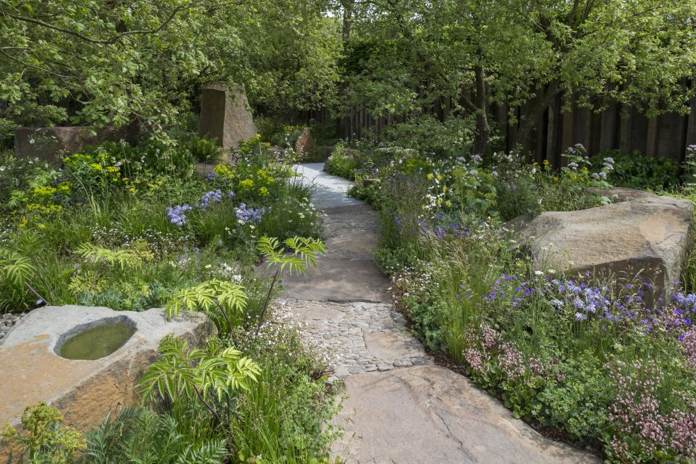 The M&G Garden, designed by Cleve West