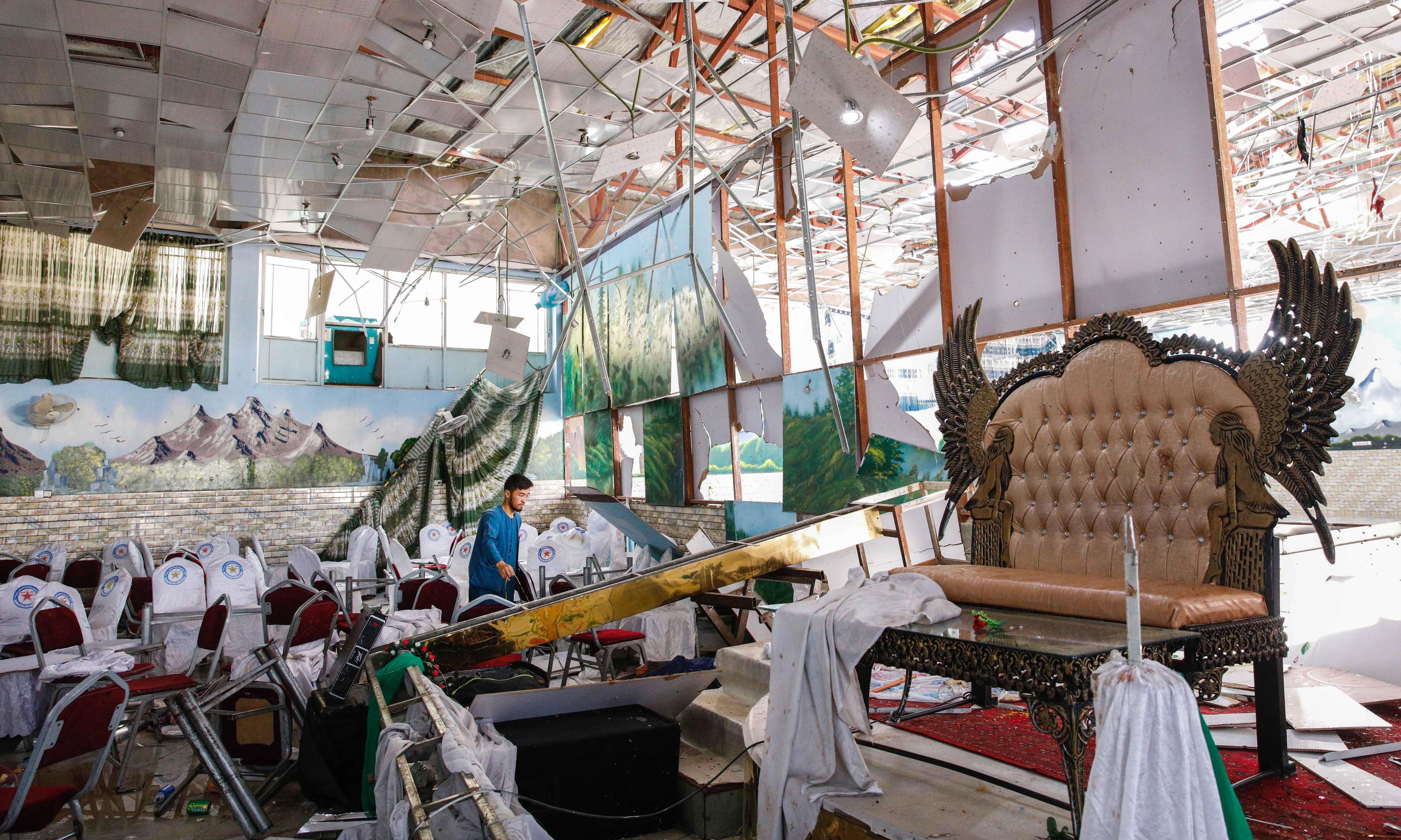 With Kabul wedding attack, Isis aims to erode Taliban supremacy