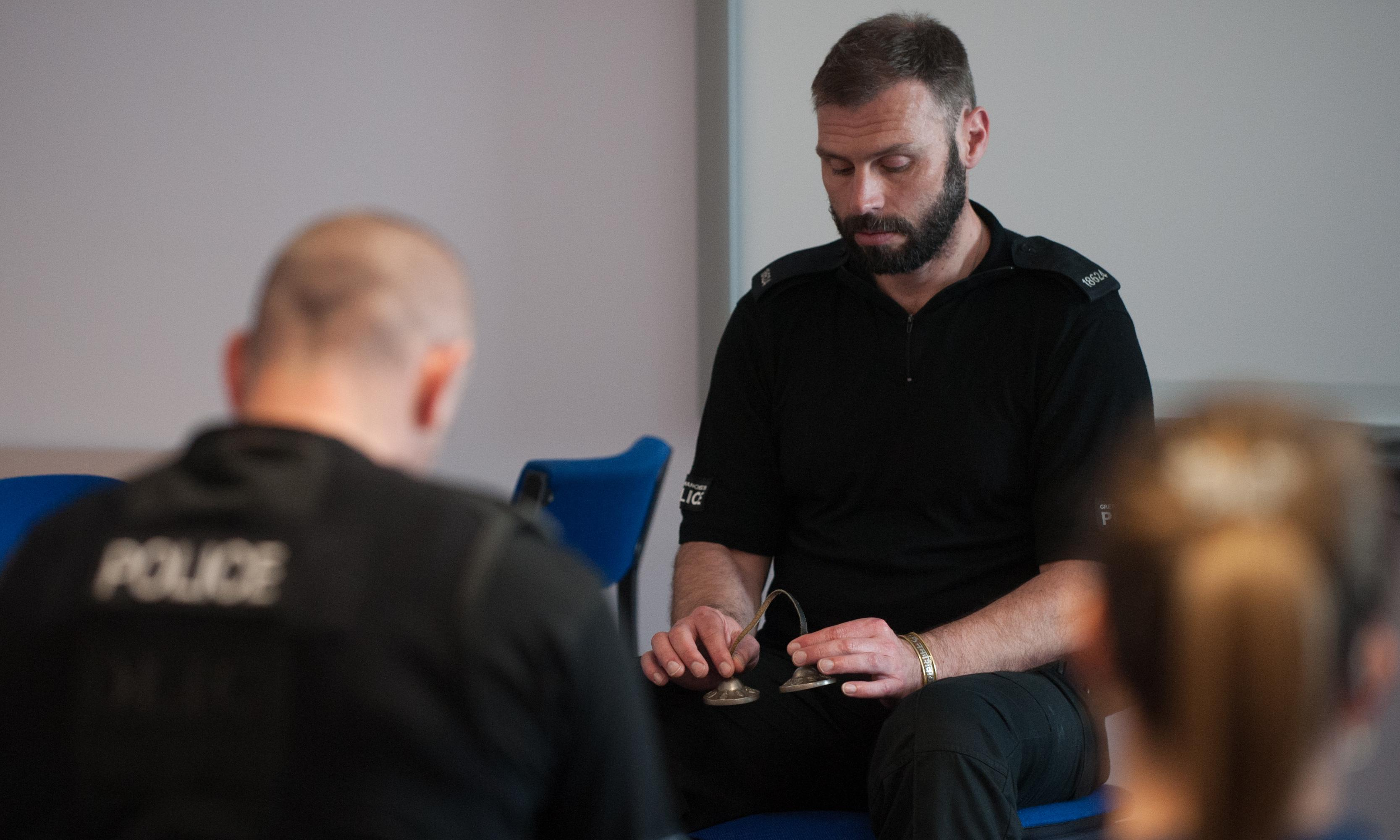 'And breathe': police try mindfulness to beat burnout