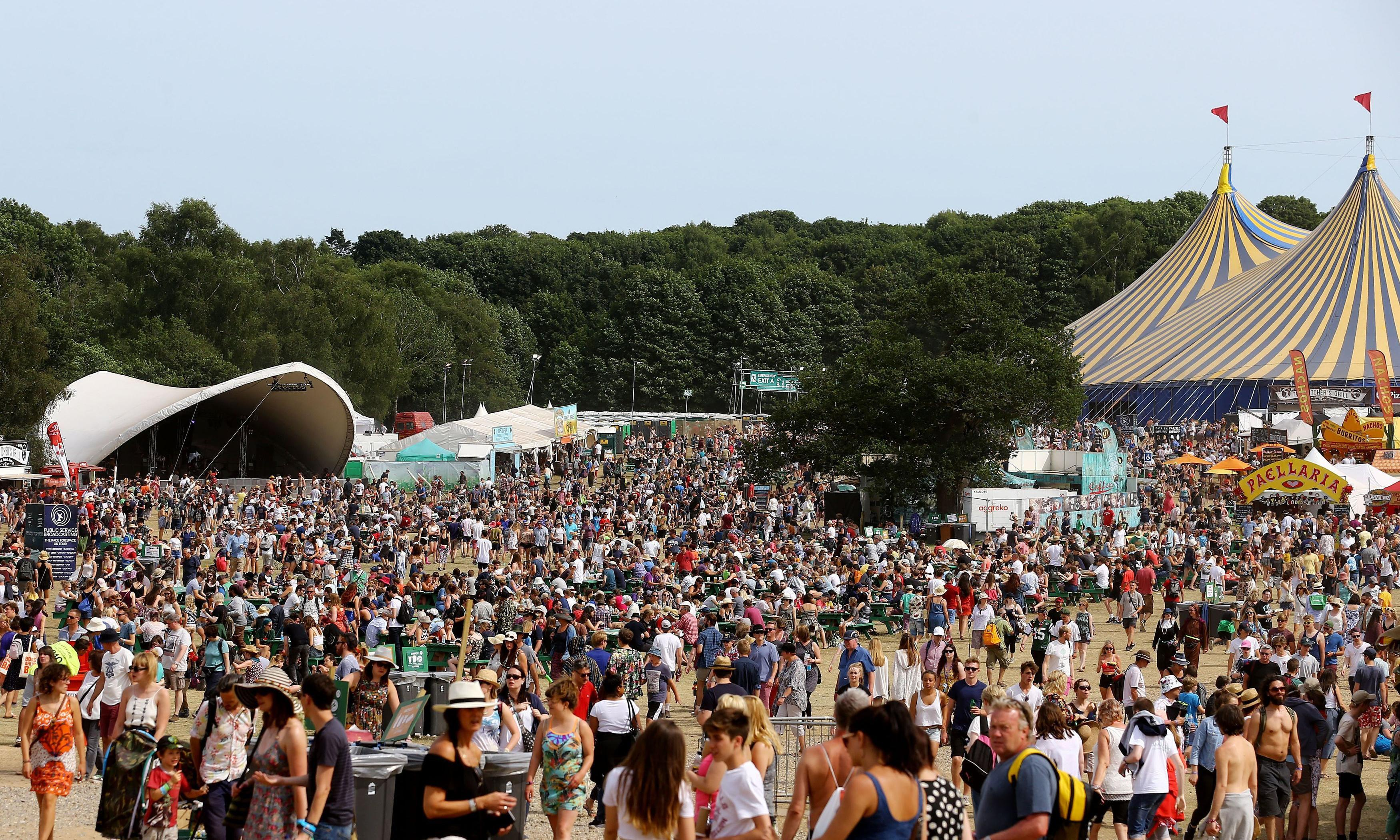 Police investigate serious sexual assault at Latitude festival