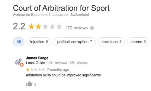 Google review for Cas.