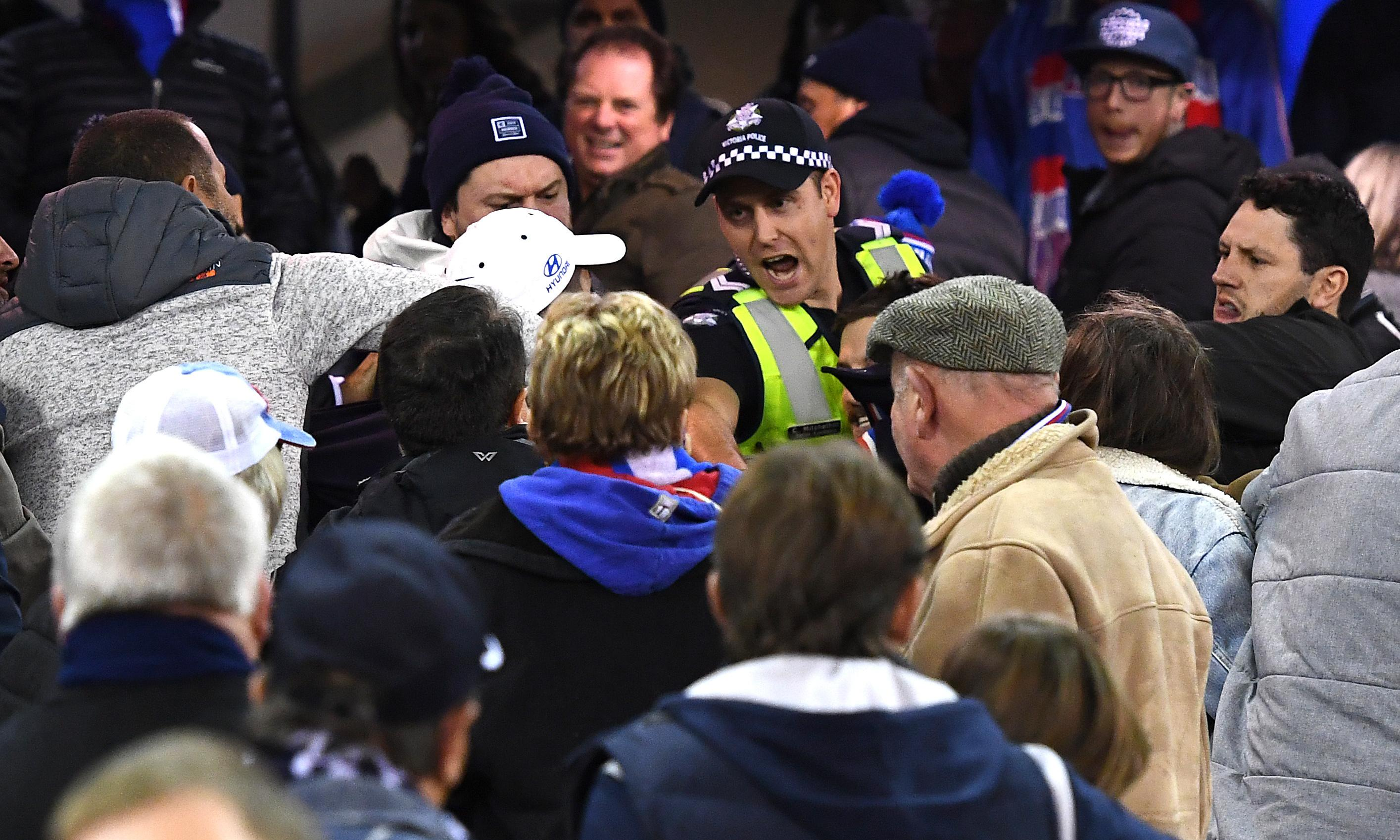 AFL 'devastated' that fans feel intimidated by security measures