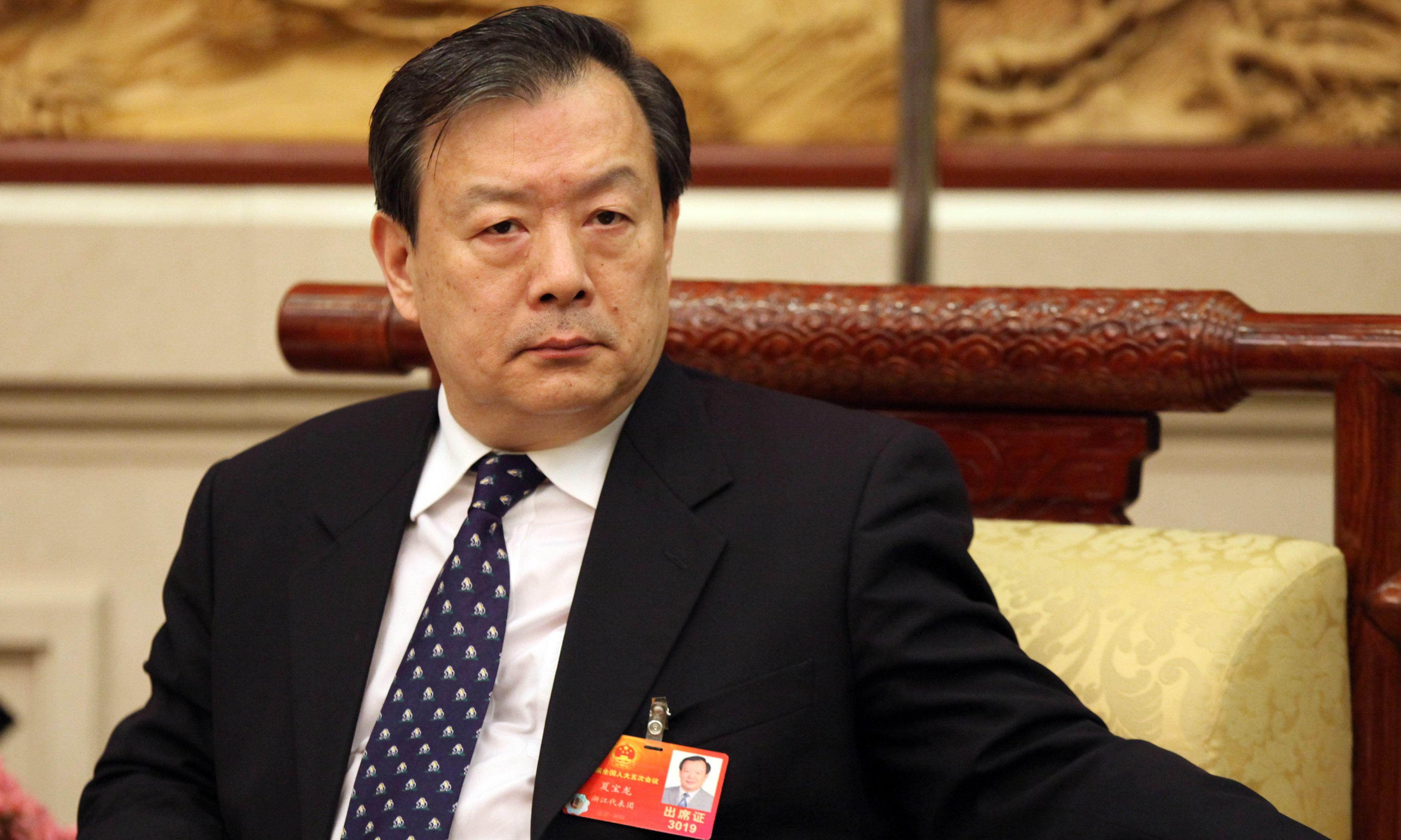 China's new Hong Kong chief a hardliner known for crusade against Christian churches