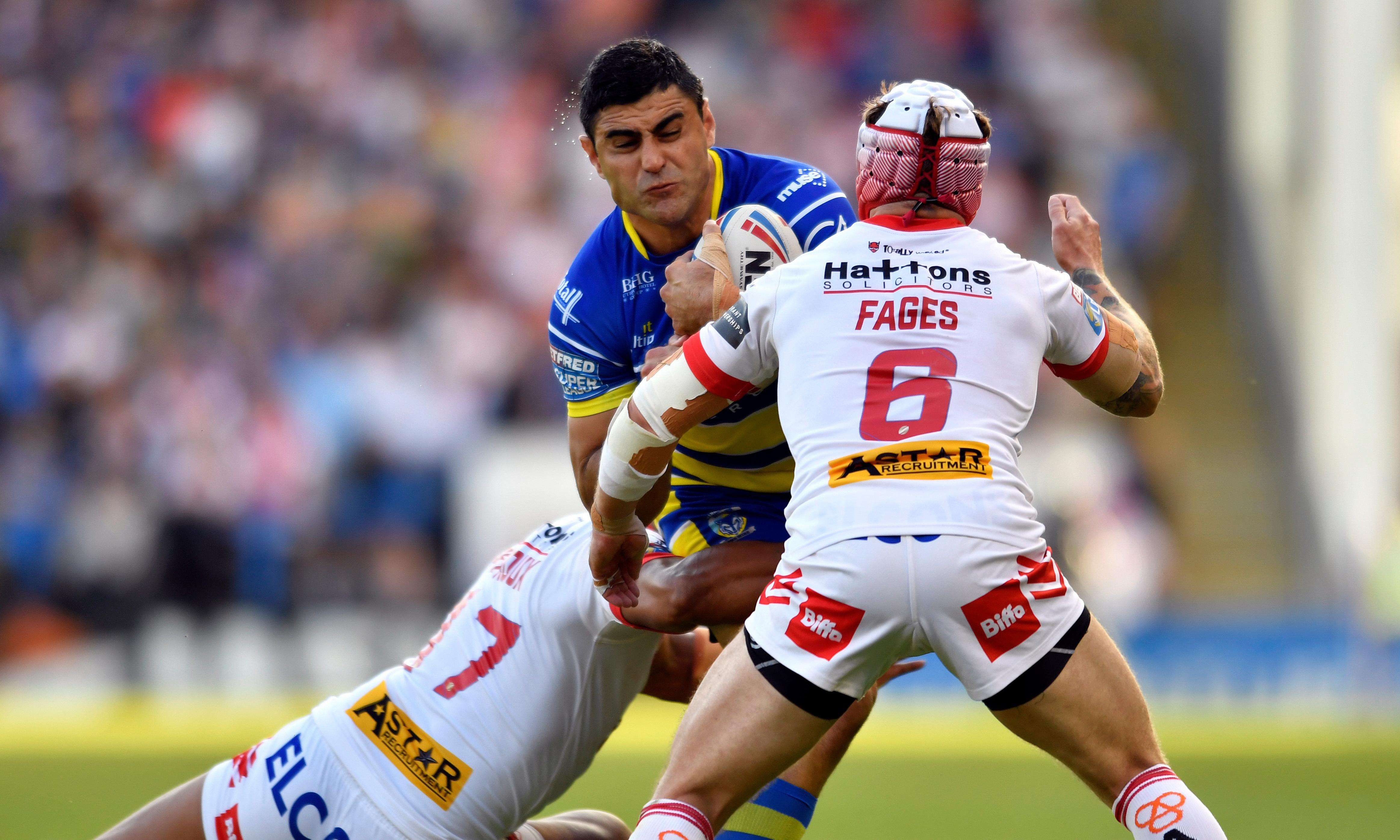 St Helens extend lead at top with comeback to win at Warrington
